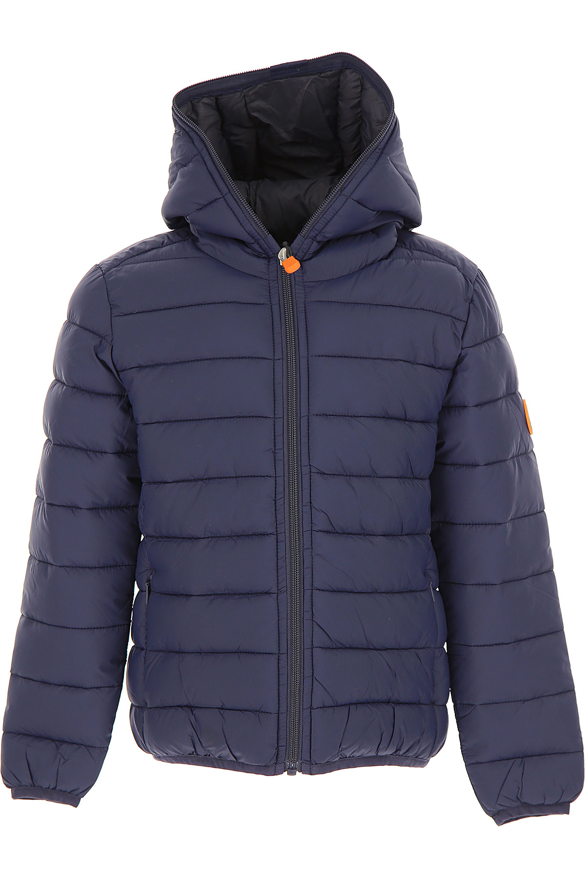 Save the Duck Boys Down Jacket for Kids, Puffer Ski Jacket On Sale, Blue Navy, Nylon, 2019, 10Y 6Y