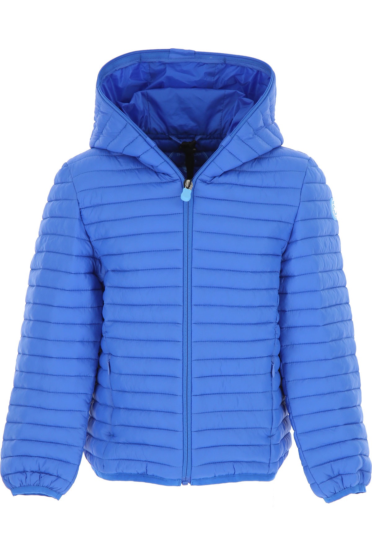 Save the Duck Boys Down Jacket for Kids, Puffer Ski Jacket, Blue Sky, Recycled Polyester, 2017, 10Y 14Y 16Y 4Y 6Y 8Y