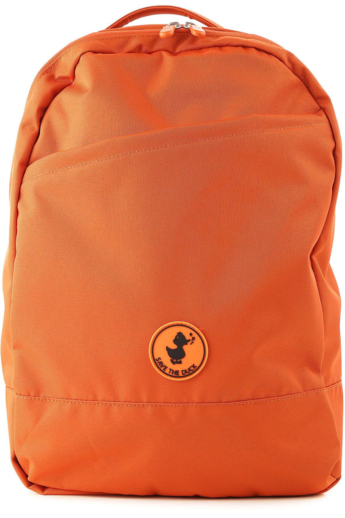 Save the Duck Backpack for Women On Sale, mandarine, Nylon, 2017