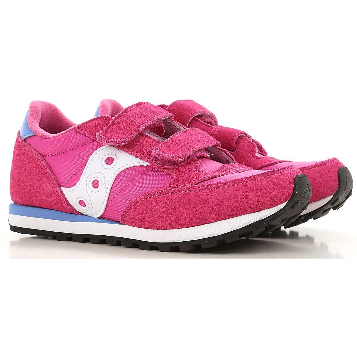 Image of Saucony Kids Shoes for Girls, Fuchsia, Fabric, 2017, Toddler 10.5 - Ita 27 Toddler 12 - Ita 29 Toddler 13 - Ita 31 UK 12 - EUR 30 UK 13.5 - EUR 32 Child 1.5 - Ita 33 Child 2 - Ita 33.5 Child 2.5 - Ita 34 Child 3 - Ita 35