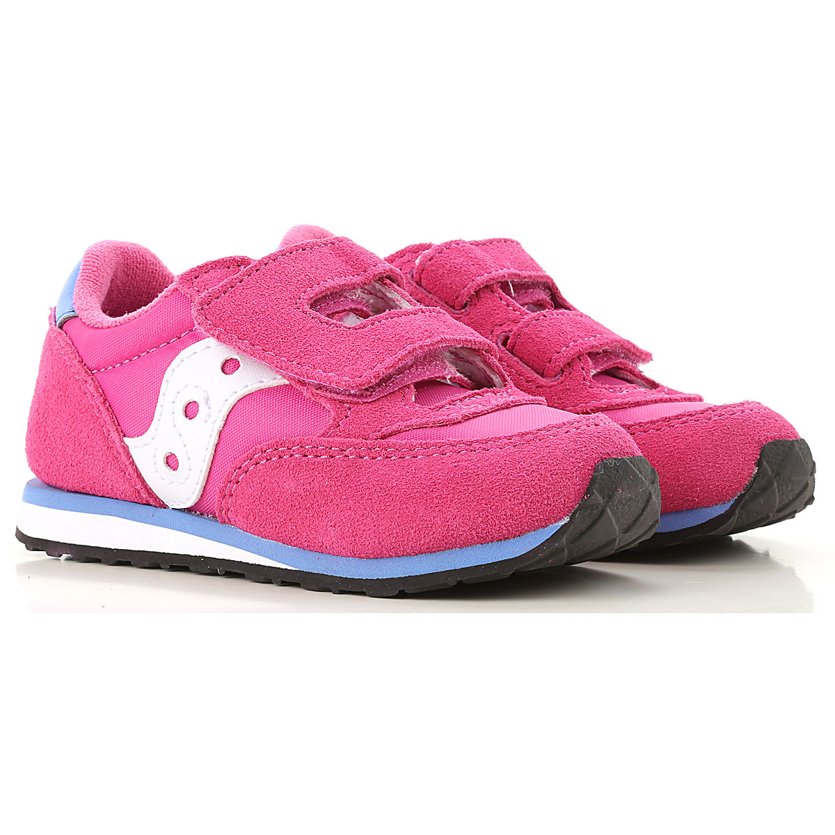 Image of Saucony Kids Shoes for Girls, Fuchsia, Suede leather, 2017, 22 23 24 25 26
