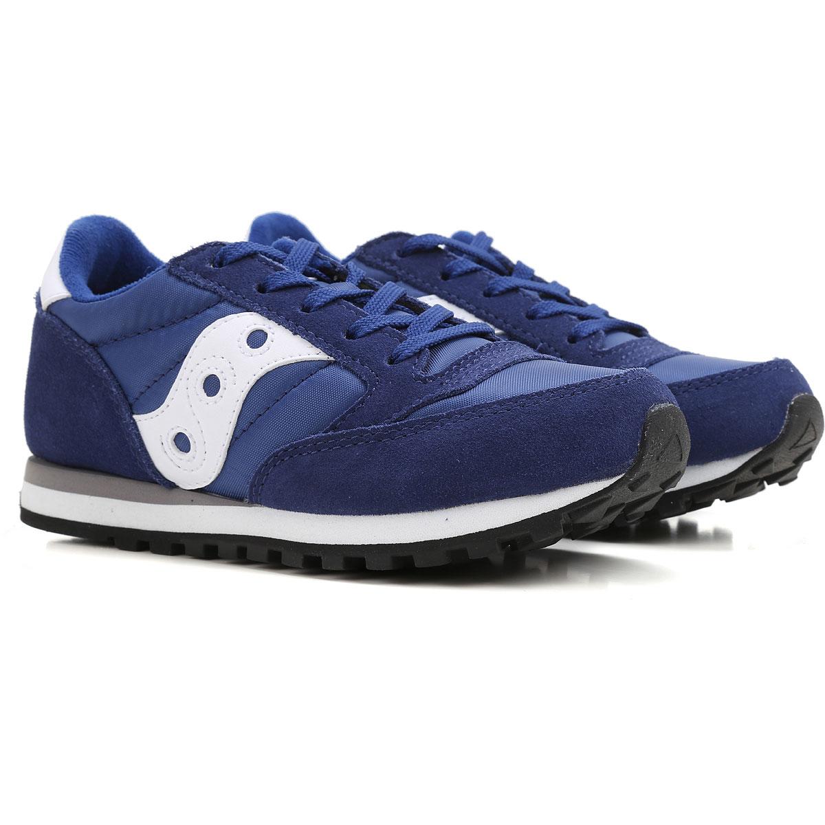 Saucony Zapatos para Niño Baratos en Rebajas Outlet, Bluette, Gamuza, 2019, 34