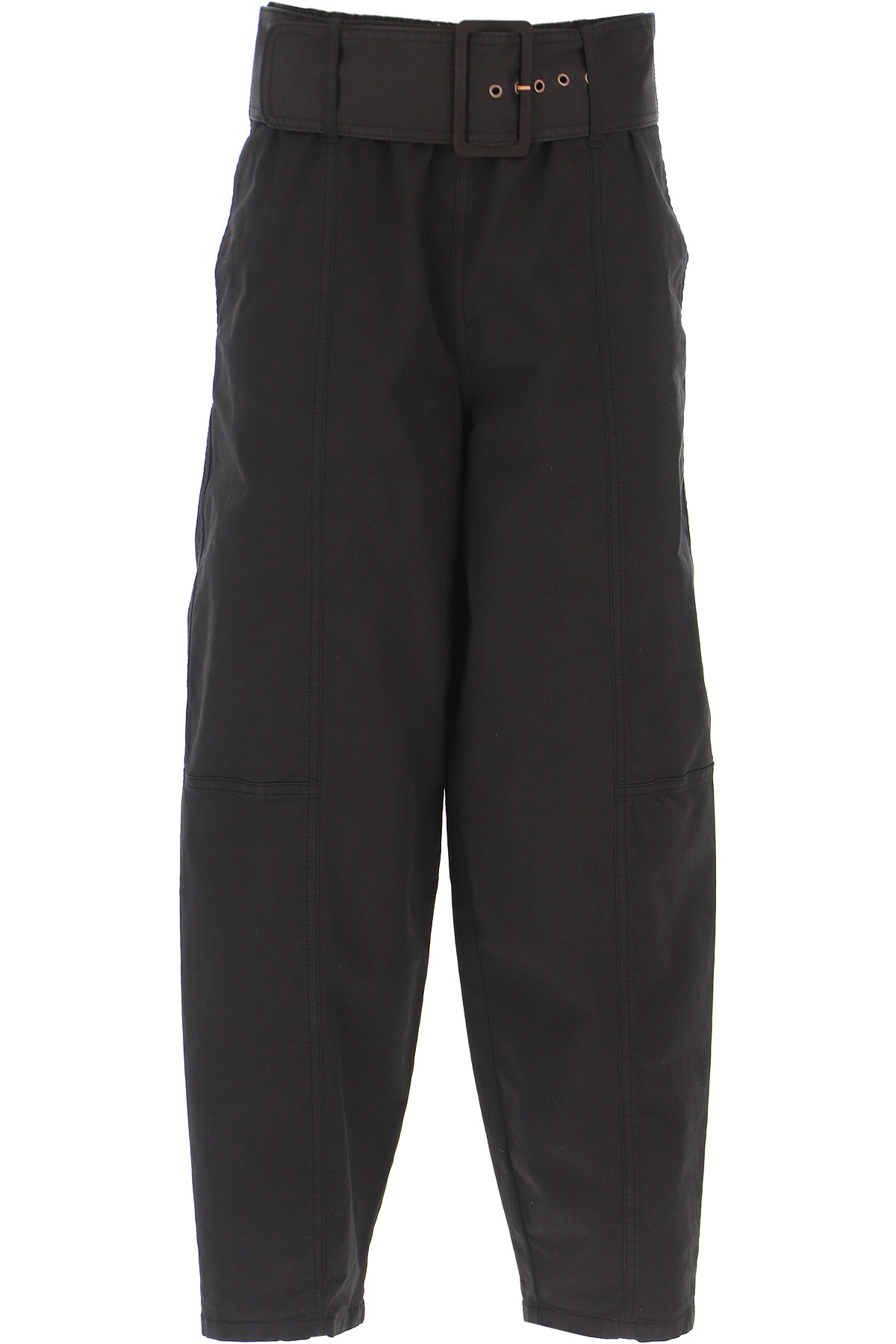 See By Chloe Pants for Women, Black, Cotton, 2019, 24