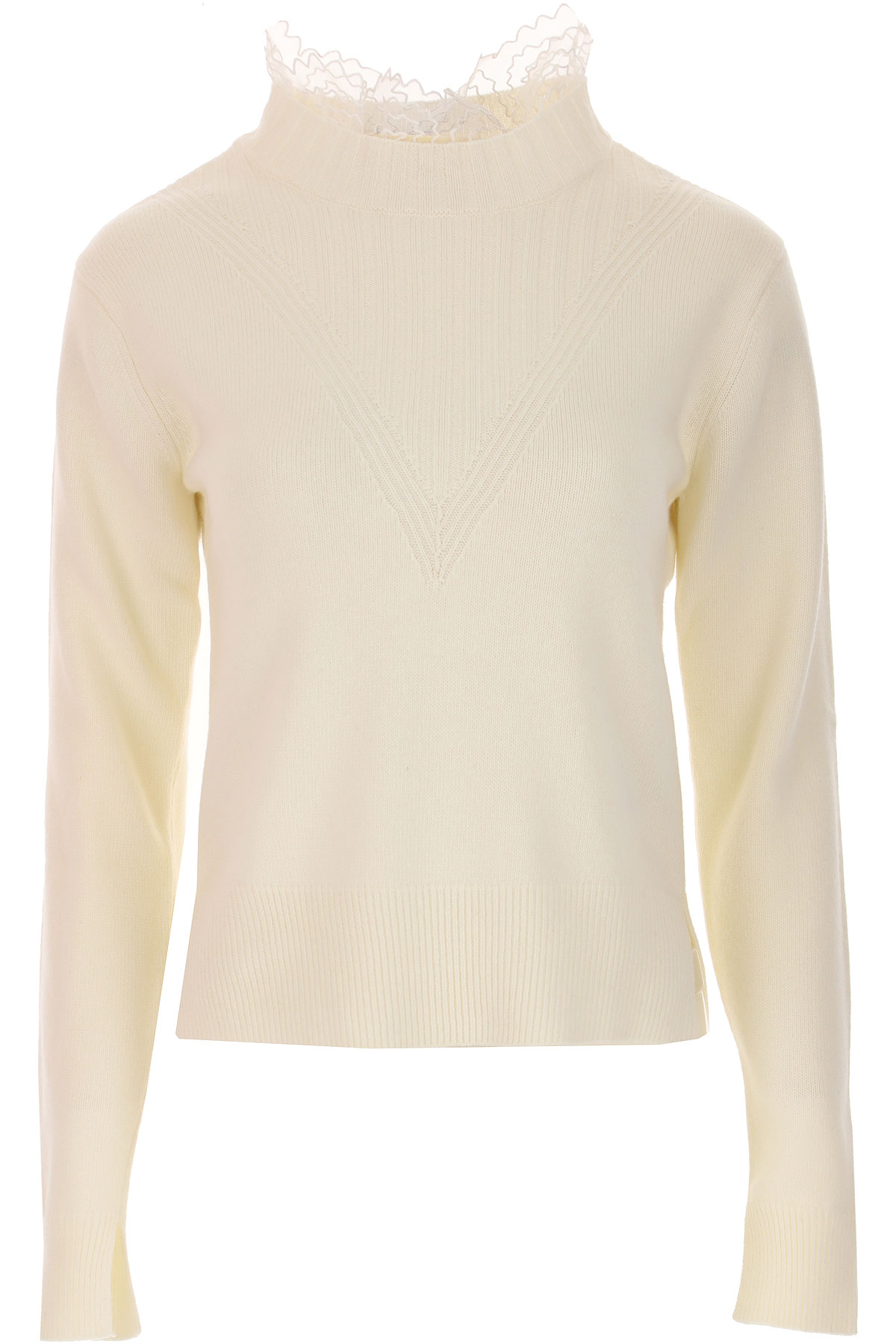 See By Chloe Sweater for Women Jumper, White, Wool, 2019, 2 4 6 8