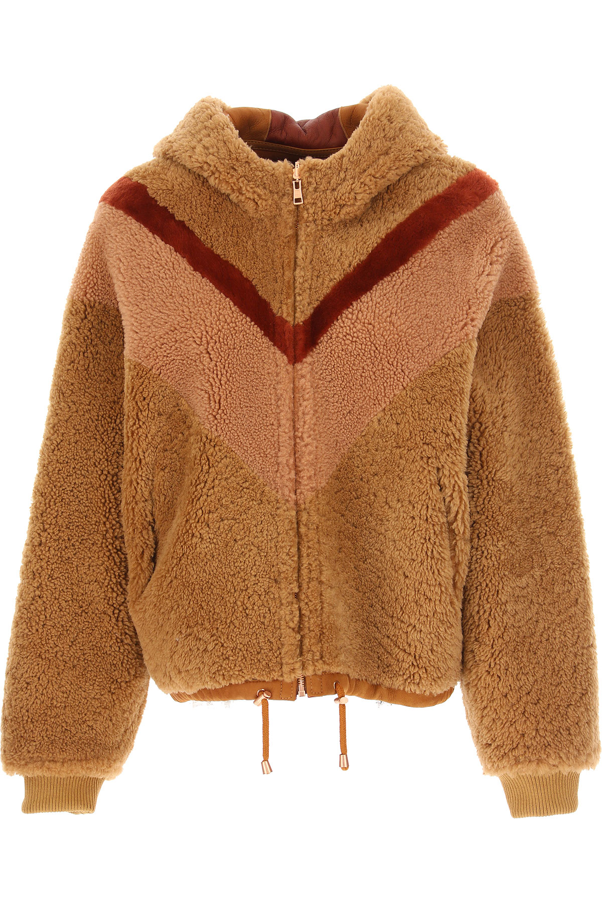 See By Chloe Jacket for Women On Sale, Beige, Leather, 2019, 4 6