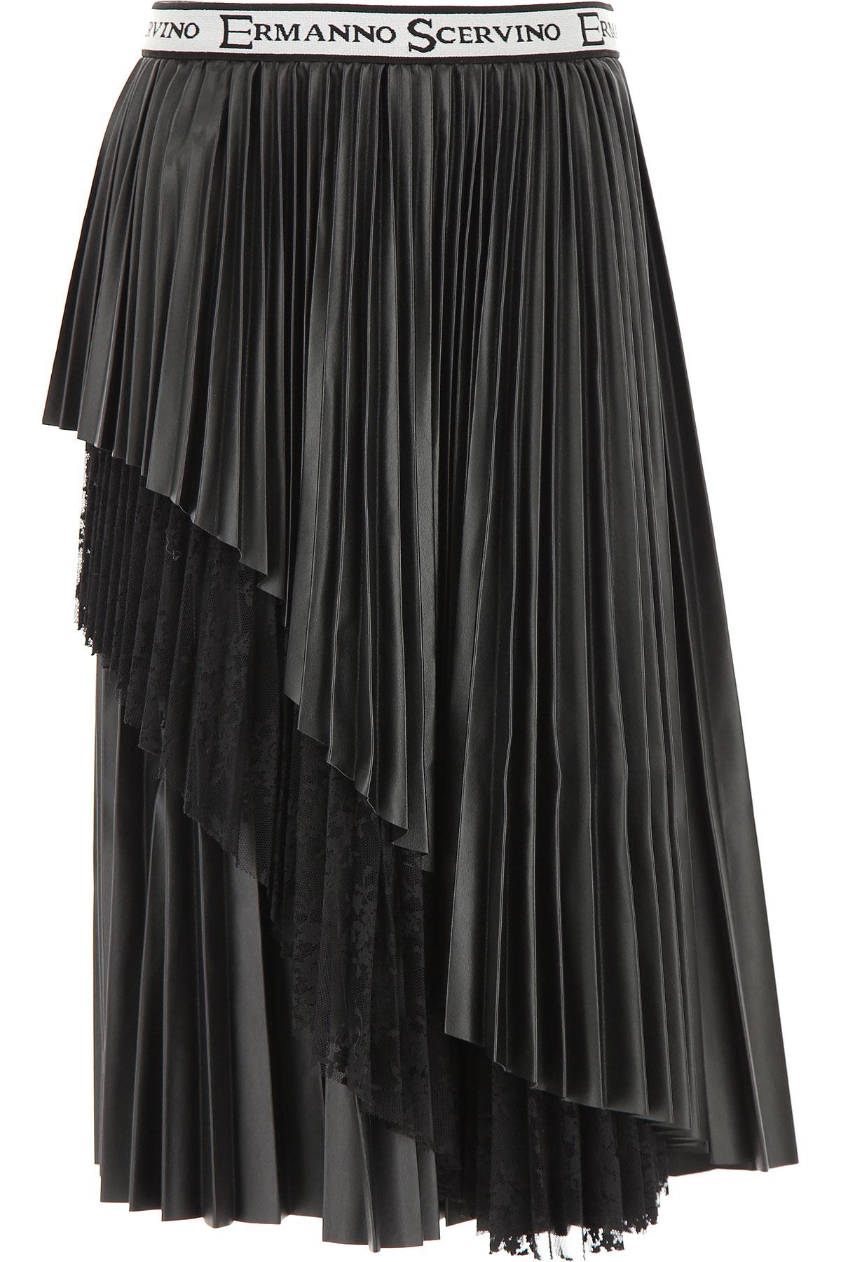 Ermanno Scervino Kids Skirts for Girls On Sale, Black, polyester, 2019, 10Y 12Y 14Y 16Y