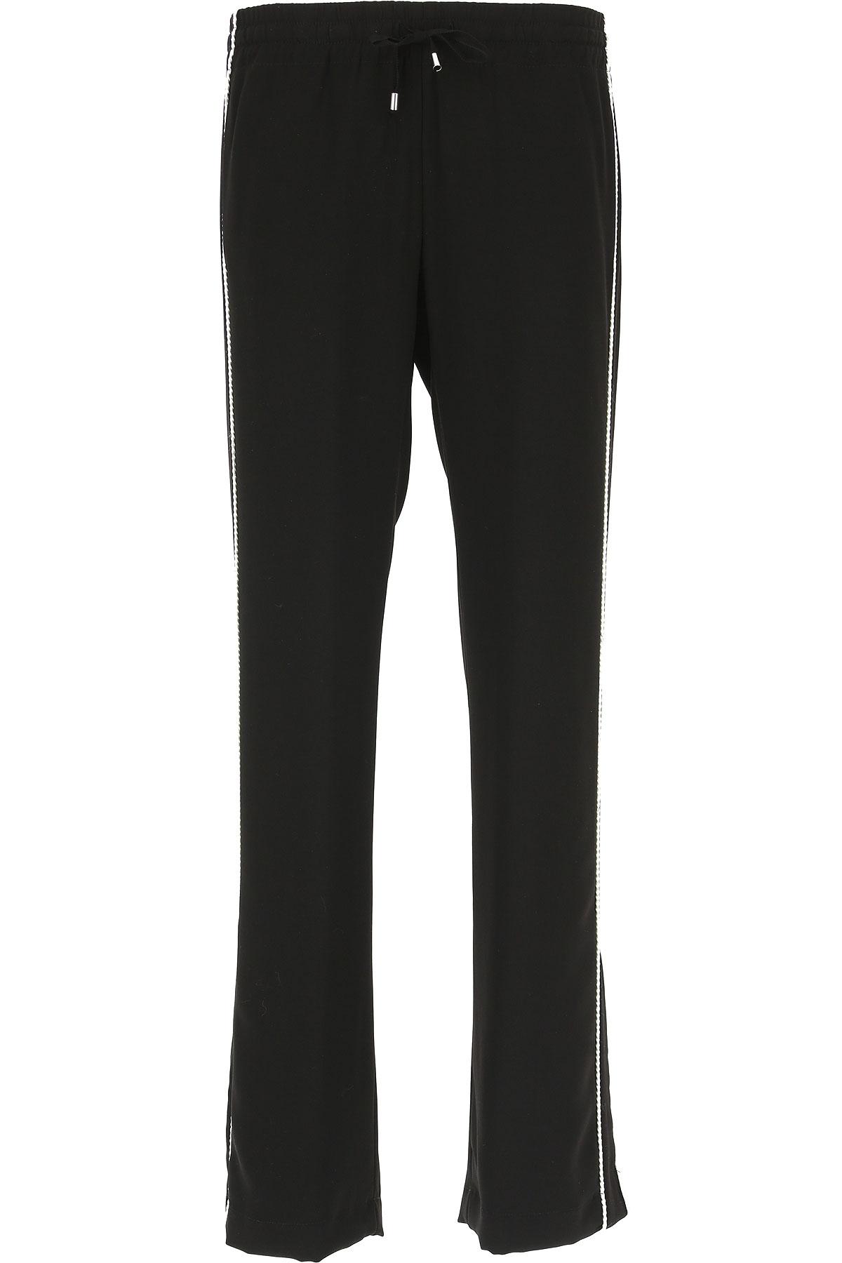 Image of Ermanno Scervino Pants for Women, Black, polyester, 2017, 24 26 28
