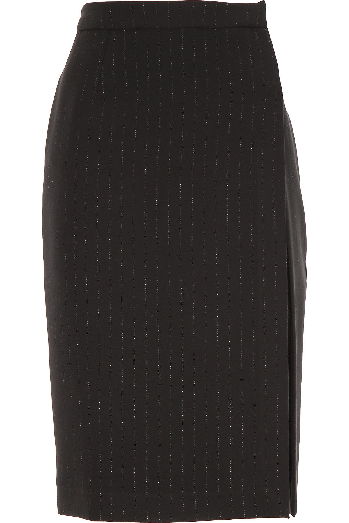 Ermanno Scervino Skirt for Women On Sale, Black, polyester, 2019, 4 6 8