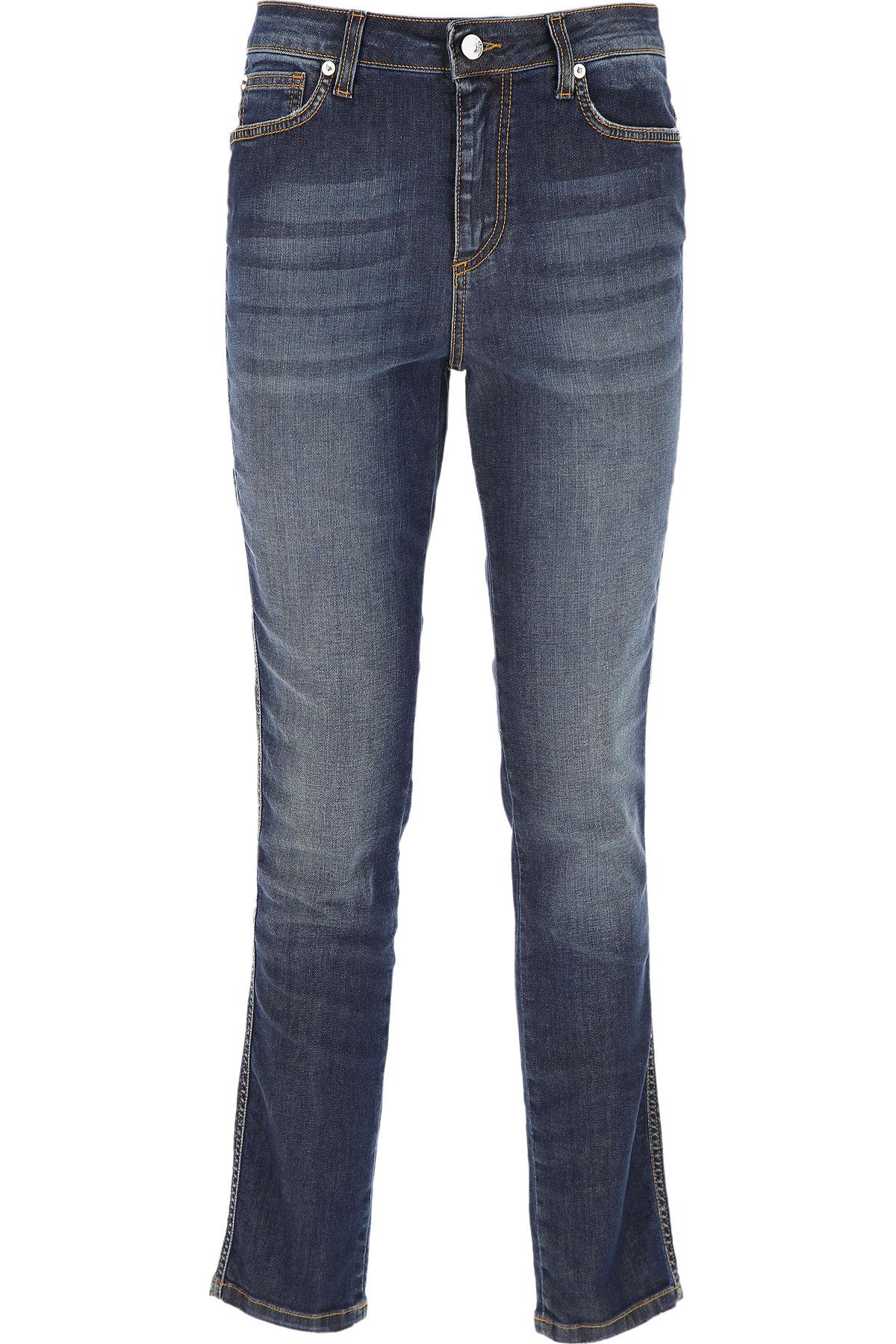 Ermanno Scervino Jeans On Sale, Denim Blue, Cotton, 2019, 10 4 6 8