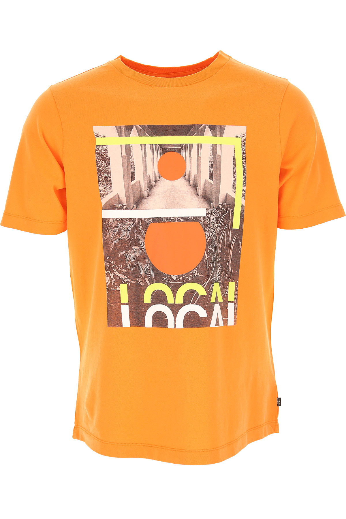 Scotch & Soda T-Shirt for Men On Sale, Light Orange, Cotton, 2019, L M XL