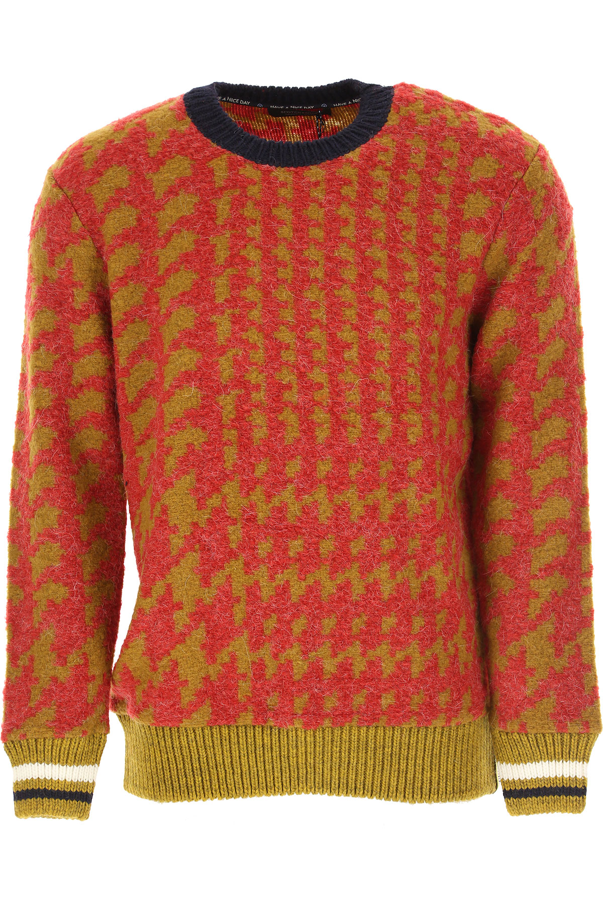 Scotch & Soda Sweater for Men Jumper On Sale, Red, polyester, 2019, L M S XL