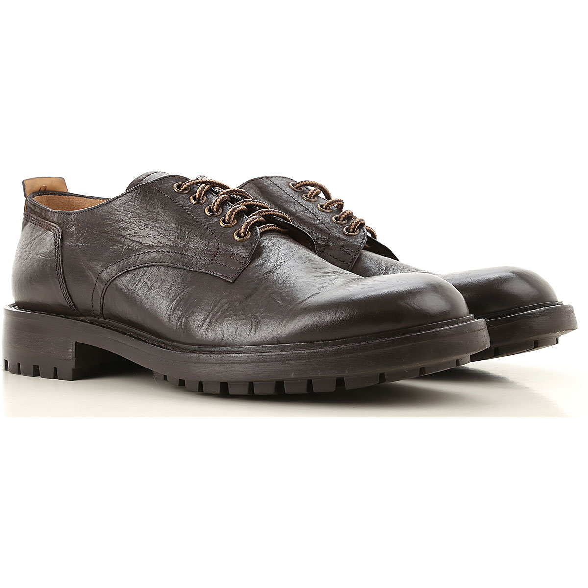 Seboys Lace Up Shoes for Men Oxfords, Derbies and Brogues On Sale, Dark Brown, Leather, 2019, 10 10.25 7.5 7.75 8 8.5