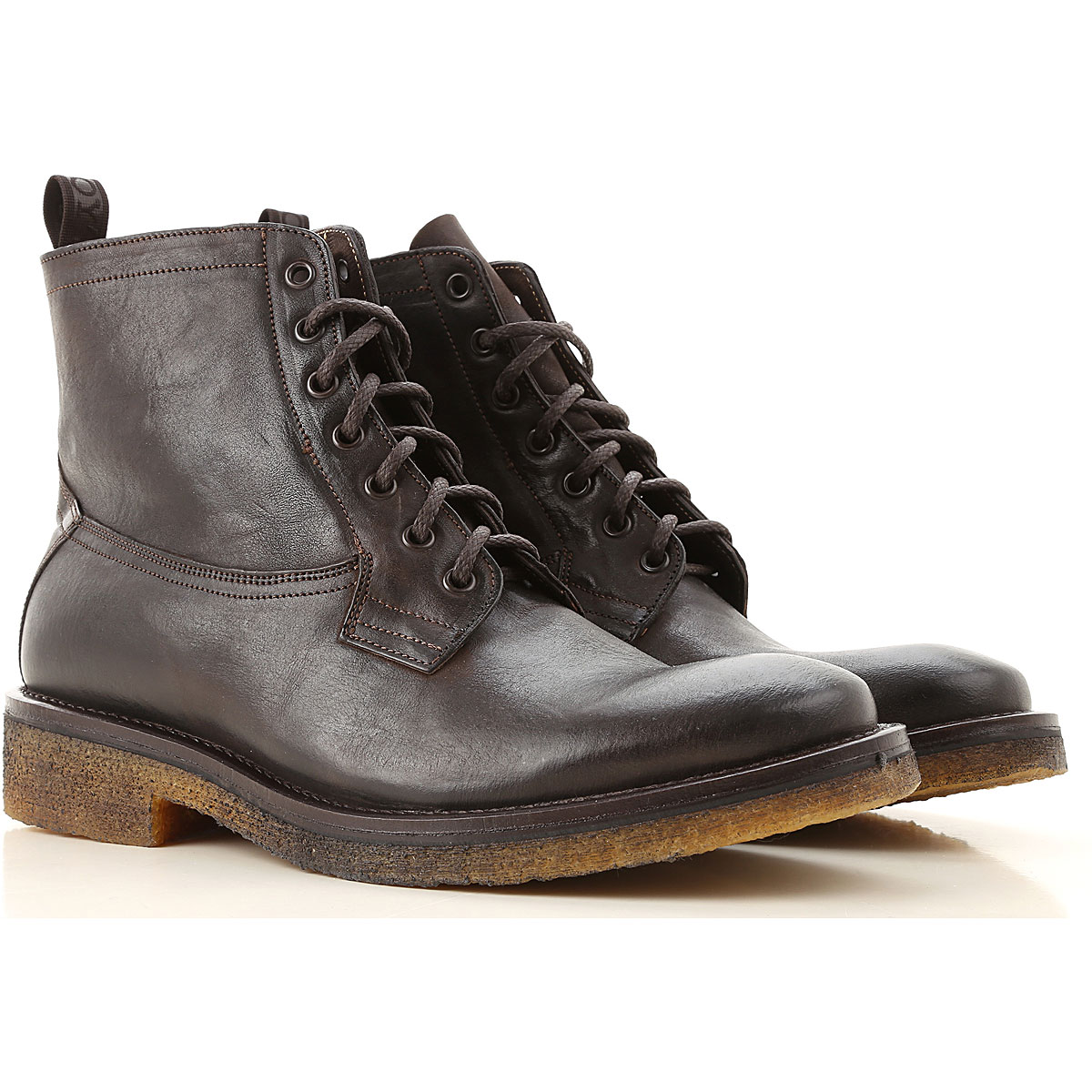 Seboys Boots for Men, Booties On Sale, Dark Brown, Leather, 2019, 10.25 7 8 9 9.5