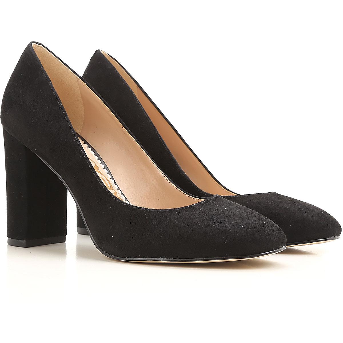 Image of Sam Edelman Pumps & High Heels for Women On Sale in Outlet, Black, suede, 2017, 10 8.5