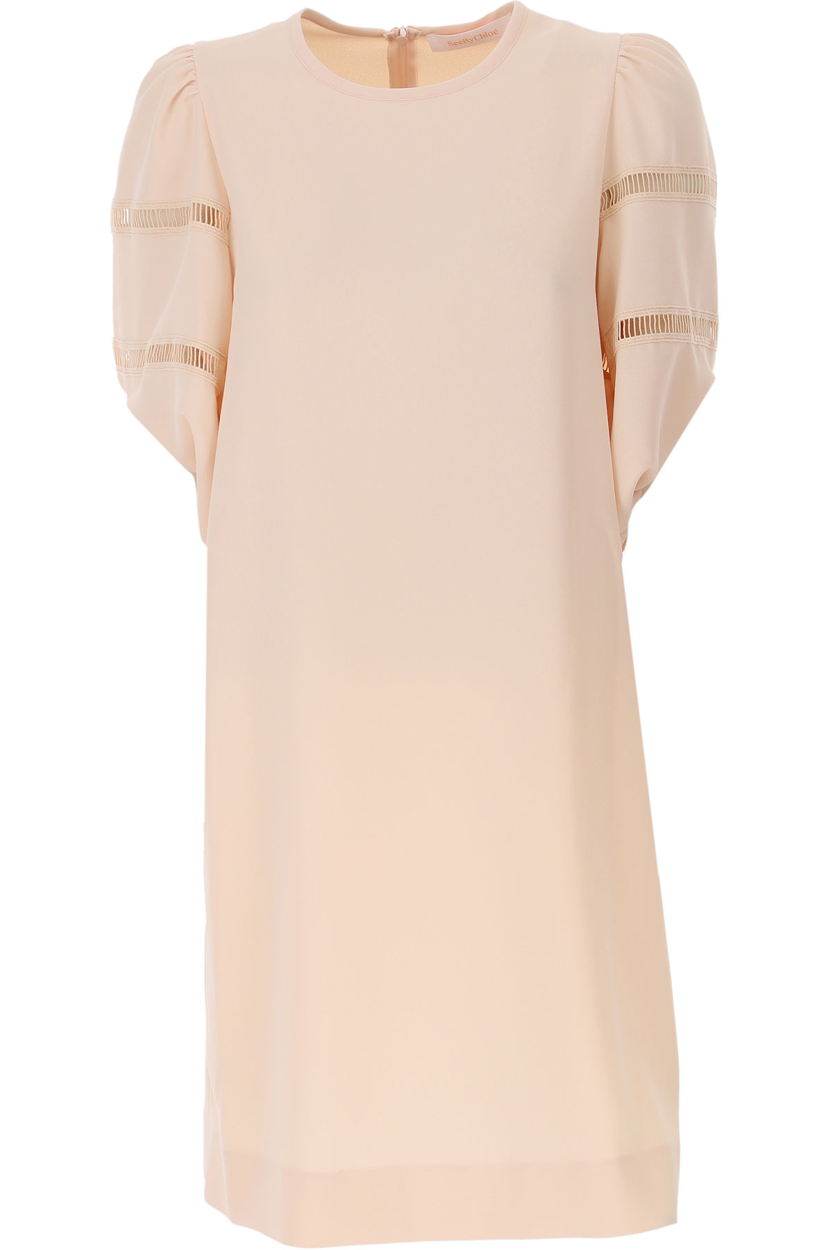 See By Chloe Dress for Women, Evening Cocktail Party, Sand Rose, polyester, 2019, 2 4