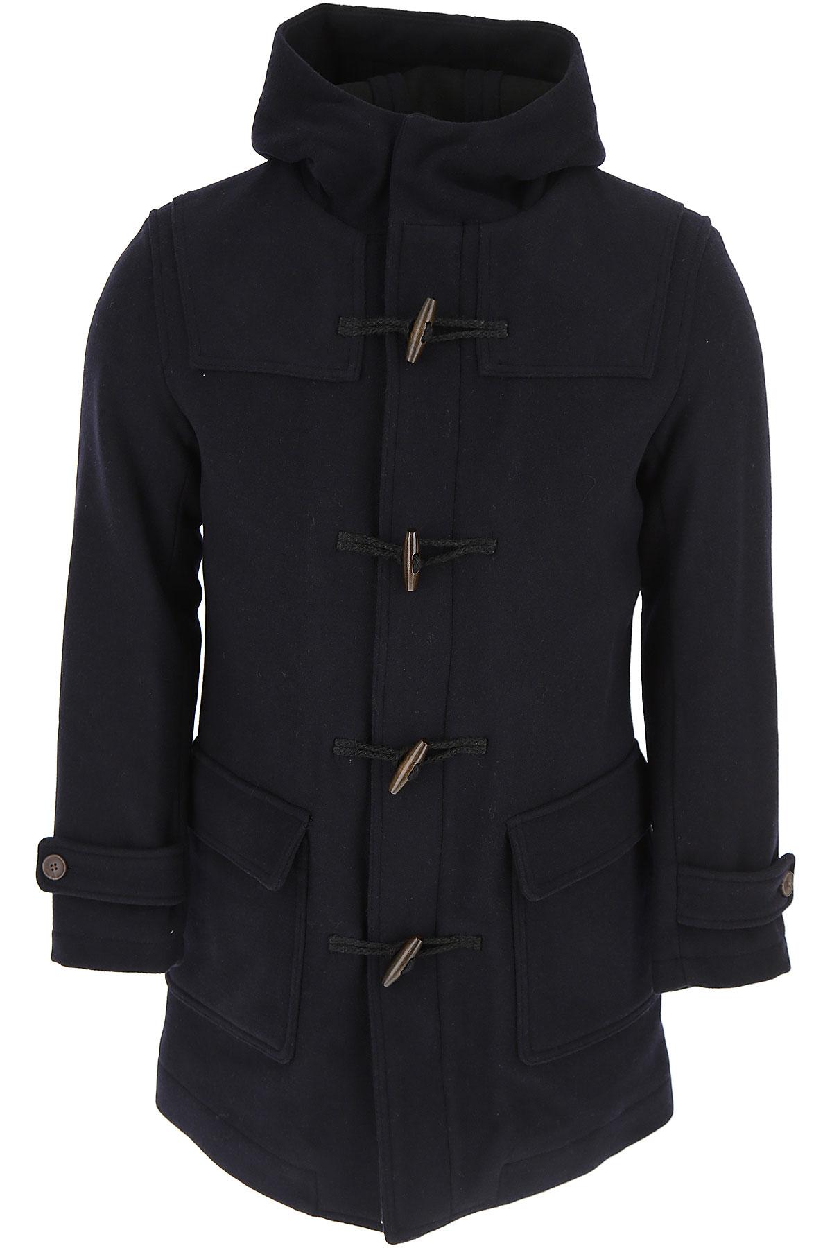 Image of Selected Men\'s Coat, Dark Saphire, polyester, 2017, L M S XL