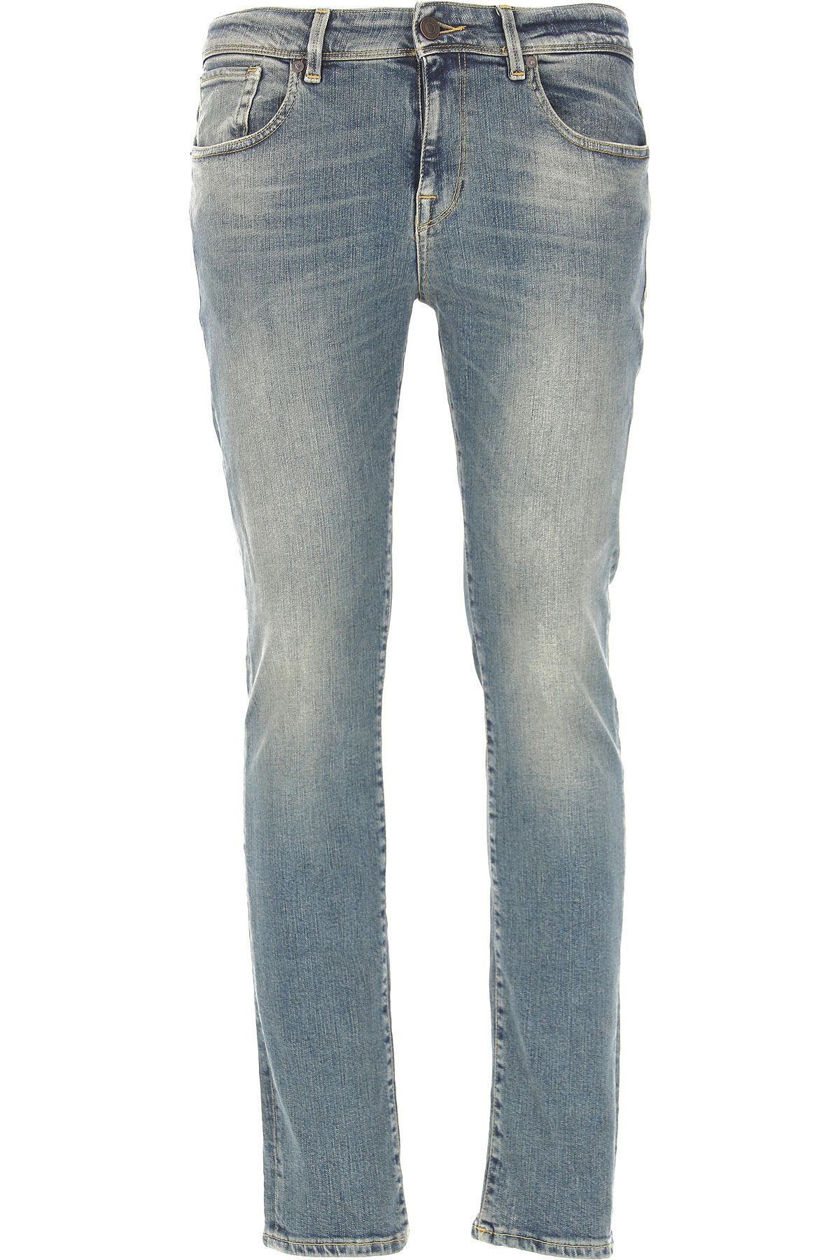 Image of Selected Jeans, Light Blue, Cotton, 2017, 31 33