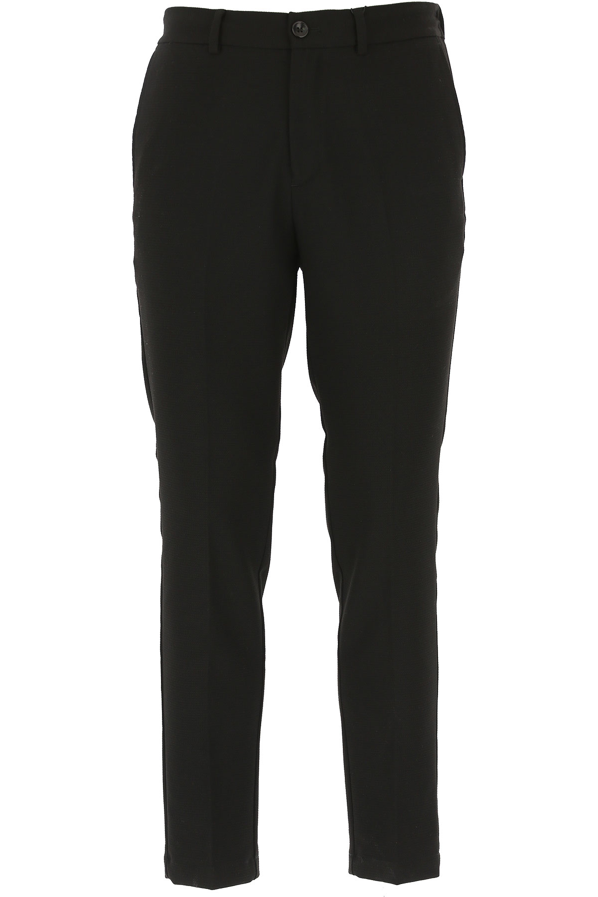Selected Pants for Men On Sale in Outlet, Black, polyester, 2019, 30 32 34 36