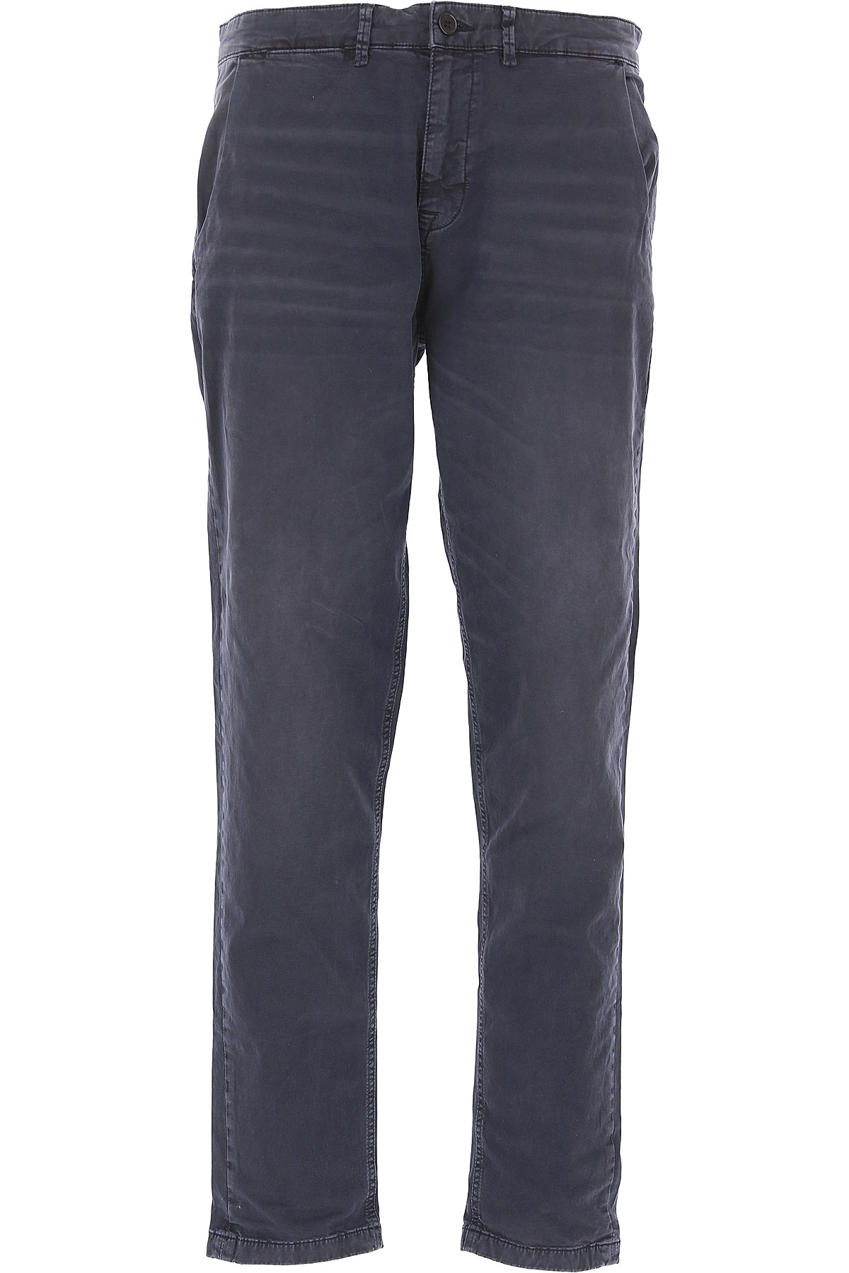 Selected Pants for Men On Sale, Navy Blue, Cotton, 2019, 32 33 34 36 38