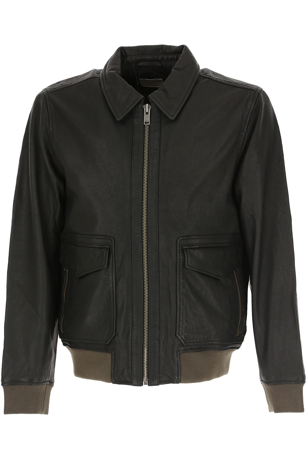 Selected Leather Jacket for Men On Sale, Black, Leather, 2019, L XL XXL