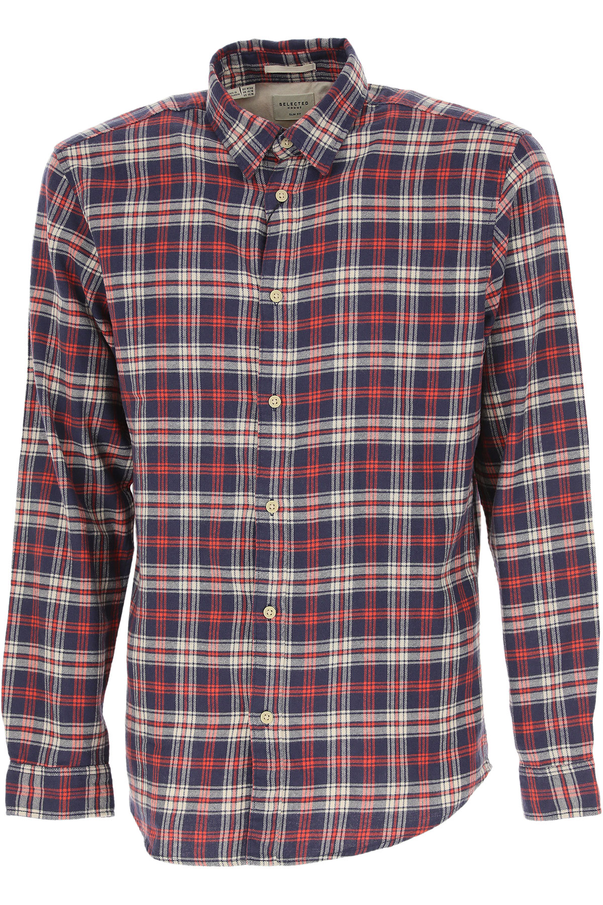 Selected Mens Clothing On Sale, Red, Cotton, 2019, S • IT 46 L • IT 50 XL • IT 52
