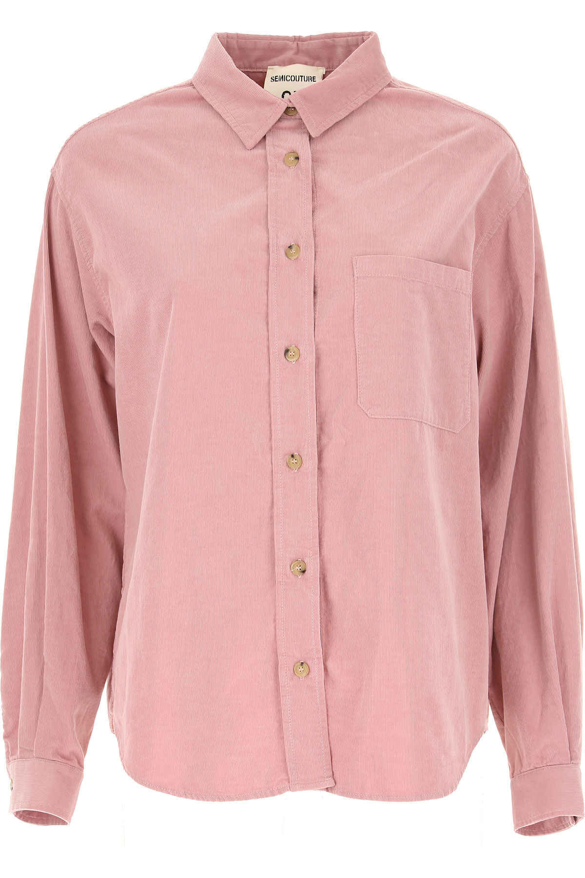 Semicouture Top for Women On Sale, Pink, Cotton, 2019, 2 4 6