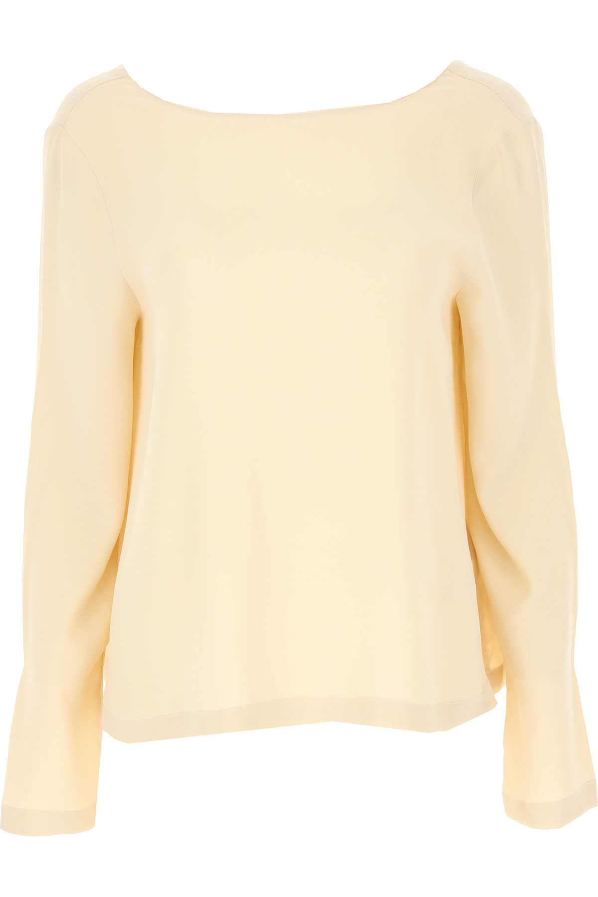 Semicouture Top for Women On Sale, Ivory, acetate, 2019, 4 8