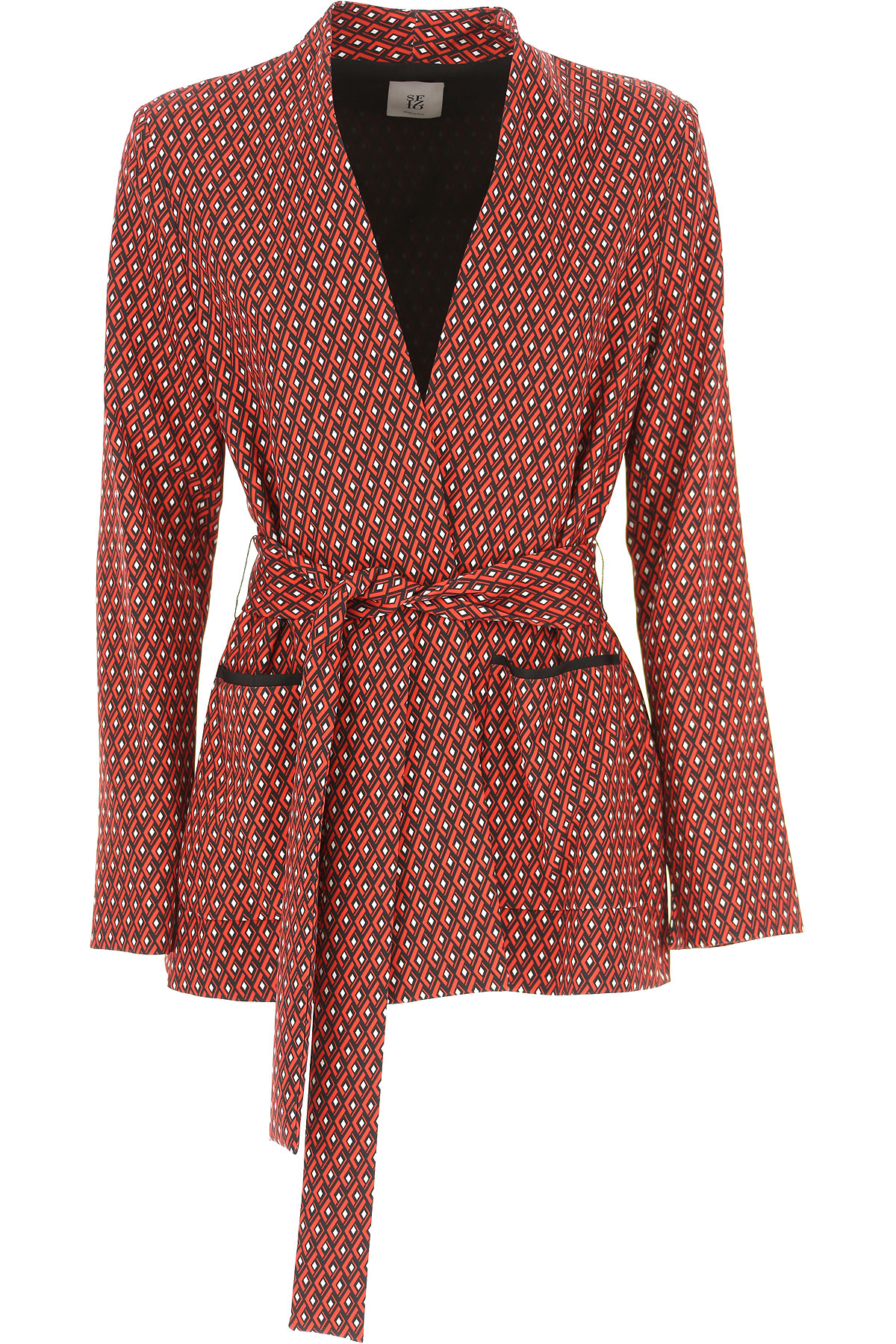 Image of Sfizio Jacket for Women, Red, polyester, 2017, 10 12 6 8