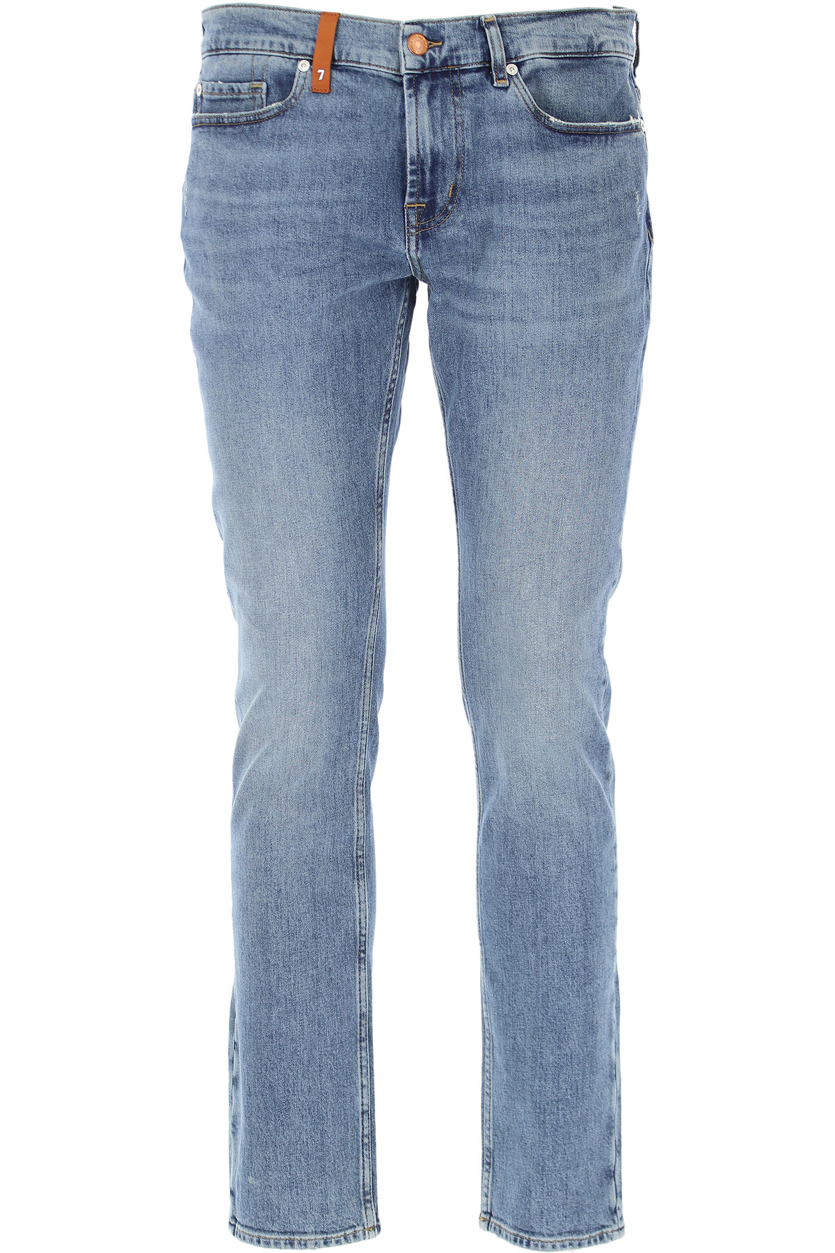 Seven For All Mankind Jeans, Denim, Cotton, 2019, 29 30 31 32 33 34