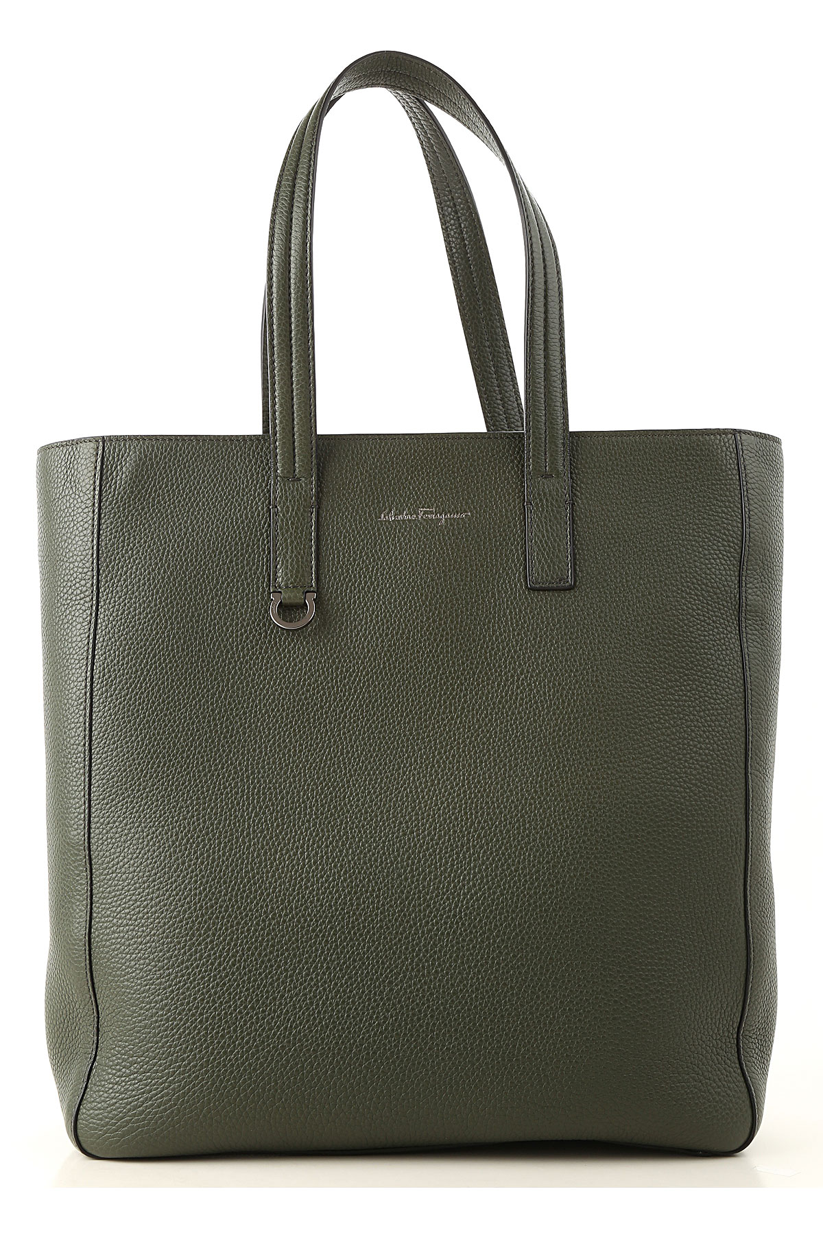 Image of Salvatore Ferragamo Totes, Green, Leather, 2017
