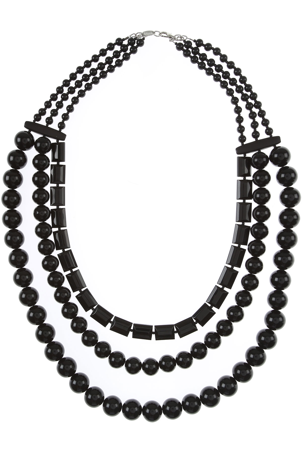 Sharra Pagano Necklaces On Sale, Black, Glass, 2019