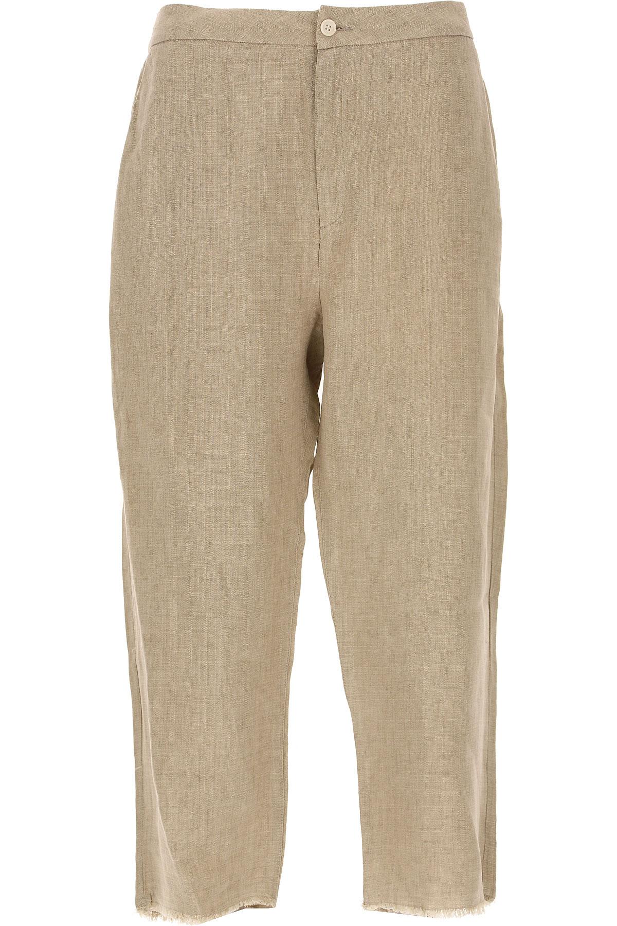 Image of Sibel Saral Pants for Women, Honey, linen, 2017, 4 6