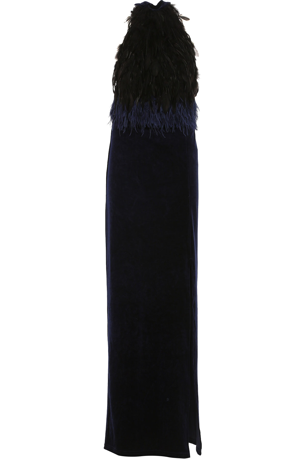 Image of Silvian Heach Dress for Women, Evening Cocktail Party, Blue, polyester, 2017, 10 4 6 8