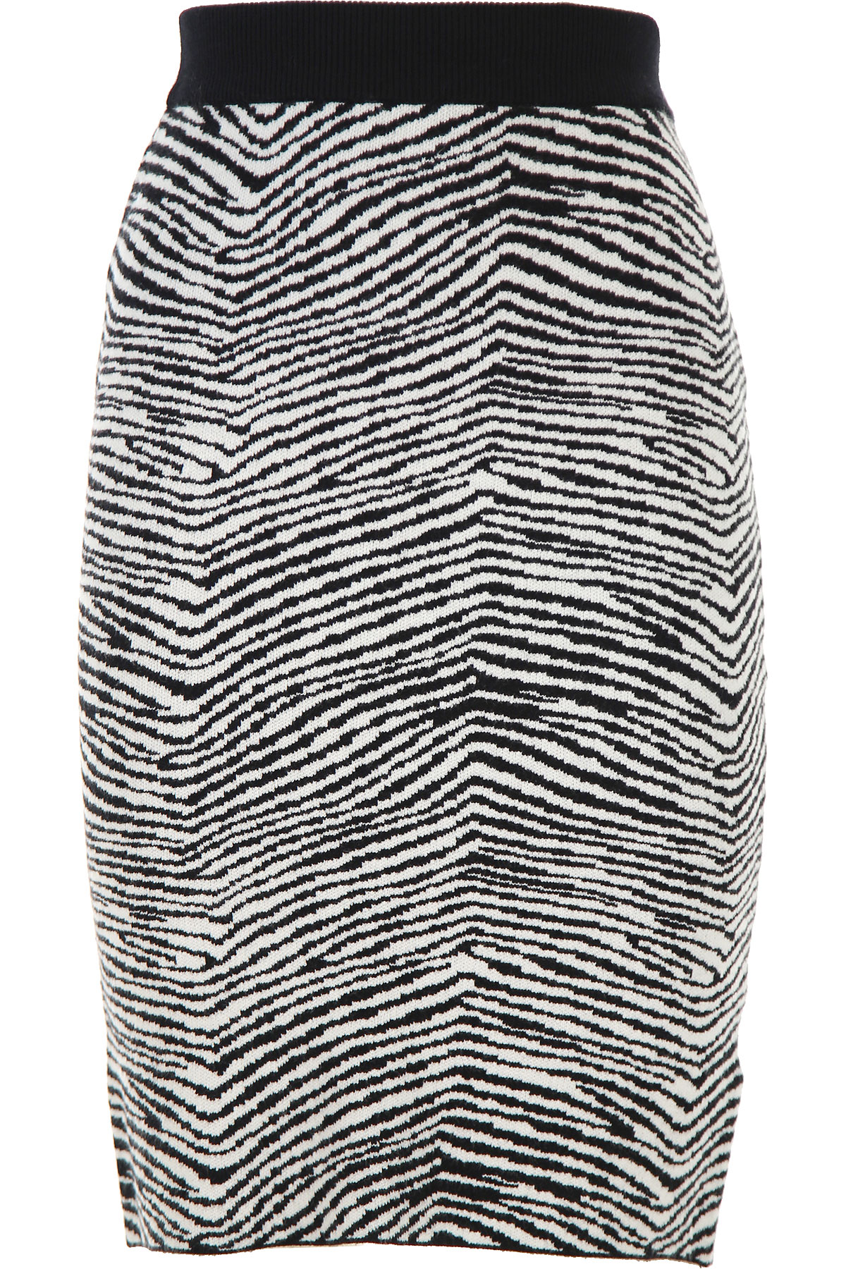 Silvian Heach Skirt for Women, Black, Viscose, 2019, 2 4