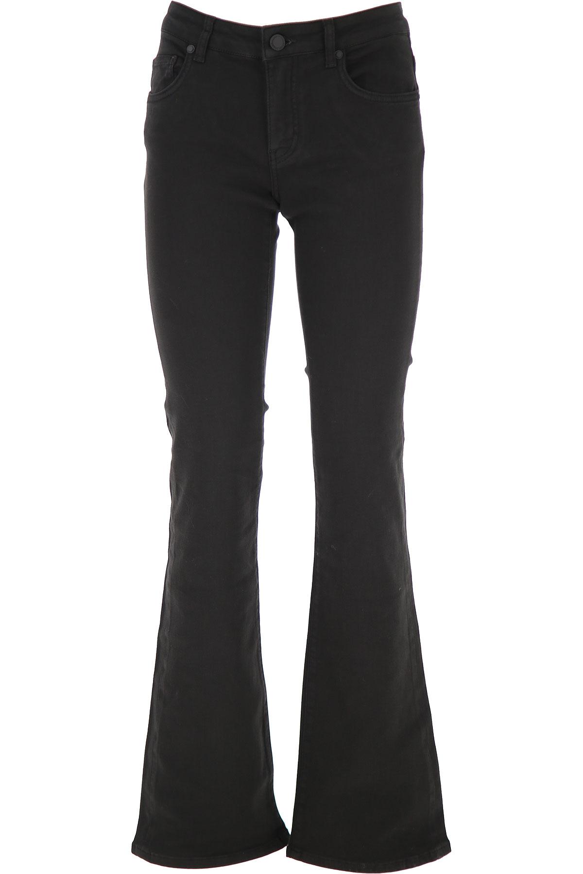 Silvian Heach Jeans On Sale, Black, Cotton, 2019, 25 26 27 28 29 30