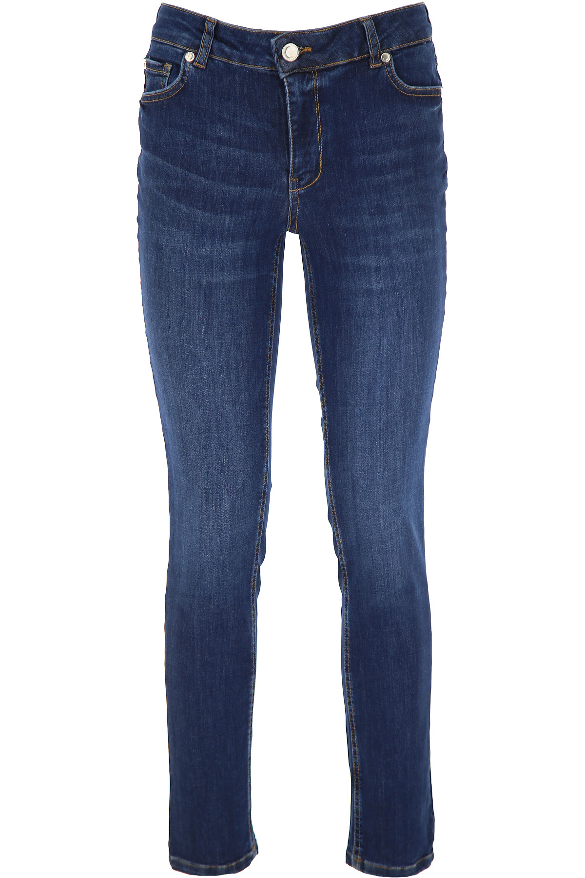 Silvian Heach Jeans On Sale, Denim Blue, Cotton, 2019, 25 27 30