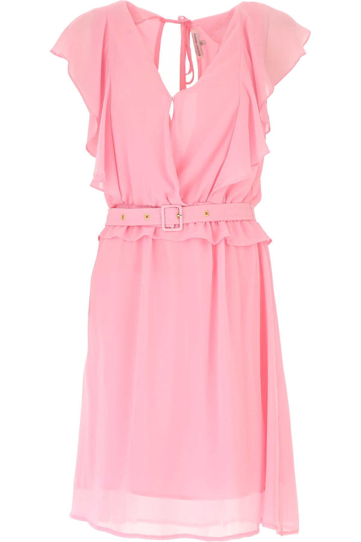 Silvian Heach Dress for Women, Evening Cocktail Party On Sale in Outlet, Candy Pink, polyester, 2019, 6
