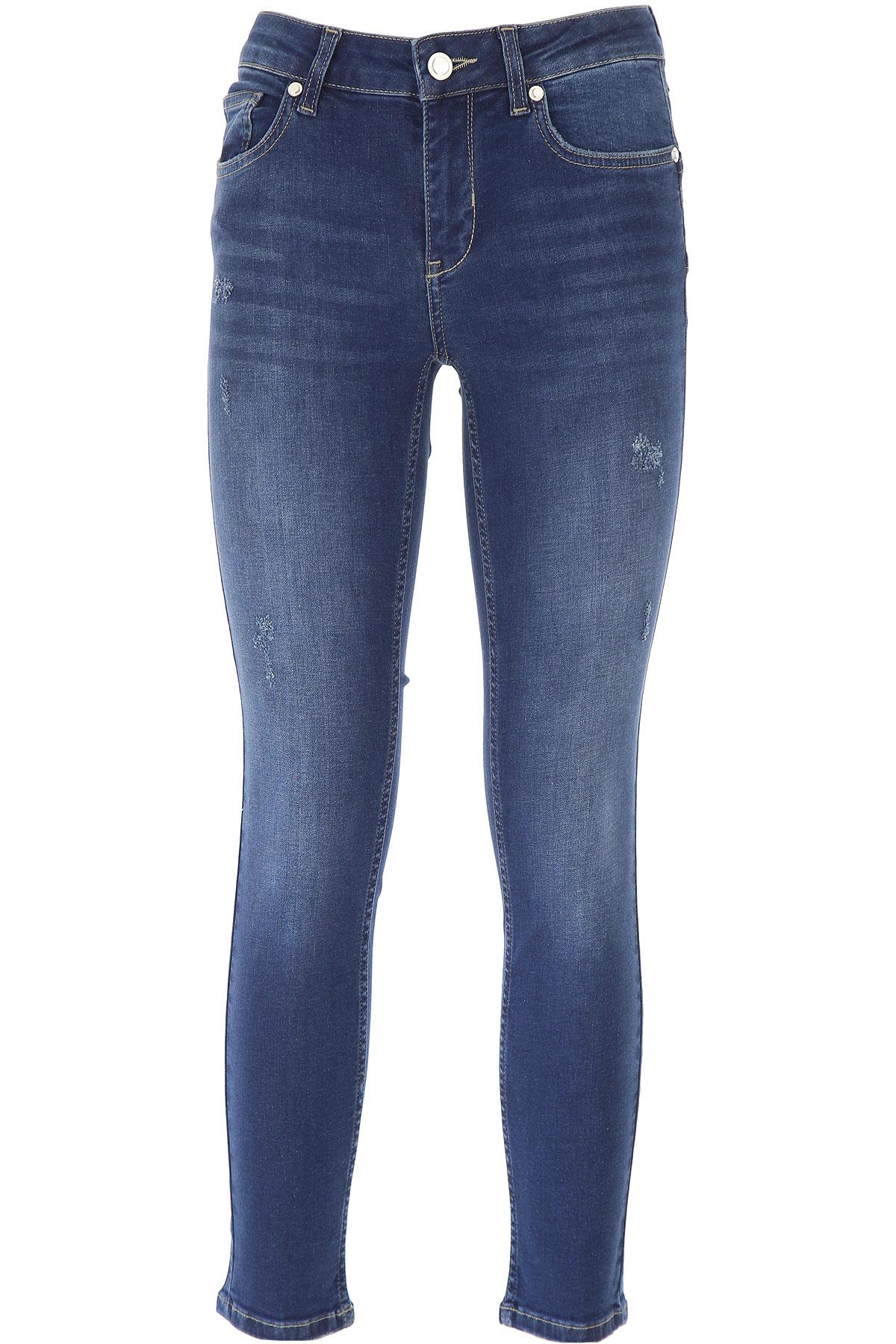 Silvian Heach Jeans On Sale, Dark Blue, Cotton, 2019, 27 28 29 30 31