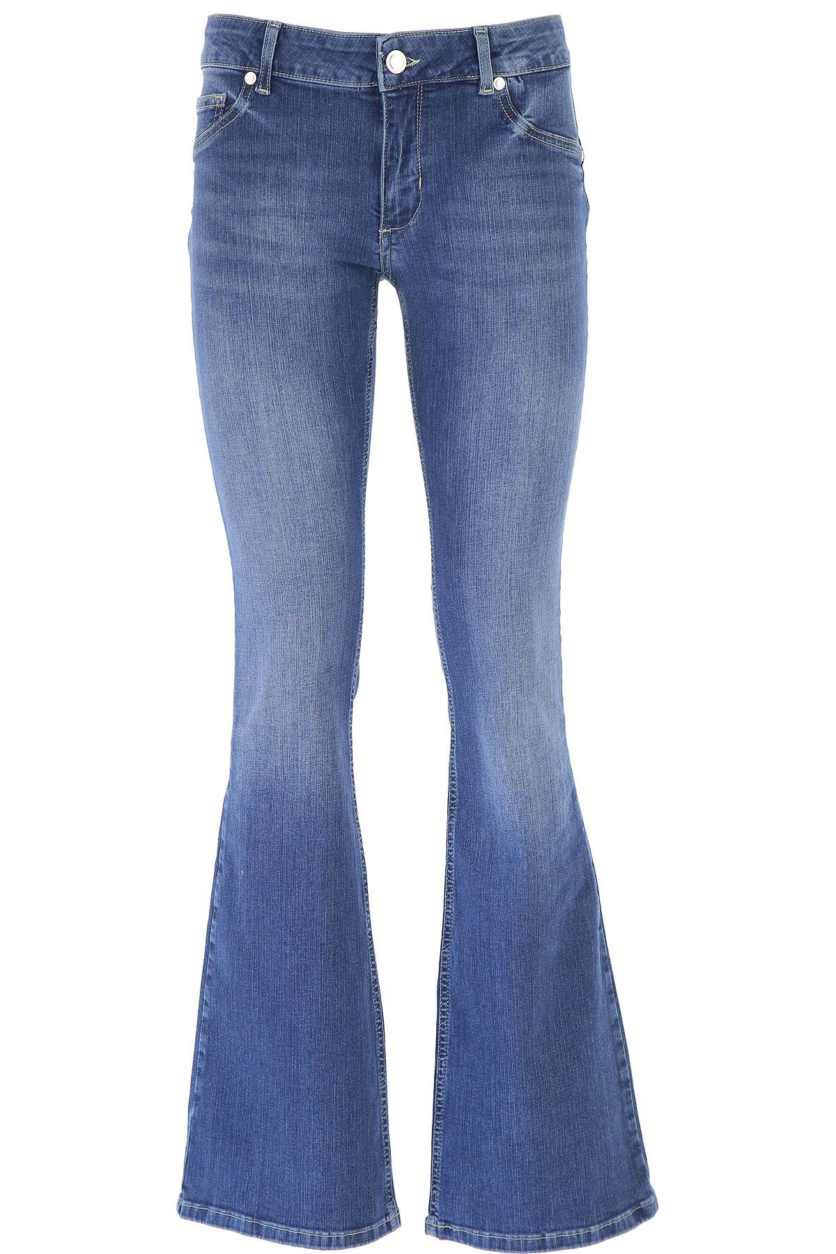 Silvian Heach Jeans On Sale, Denim Blue, Cotton, 2019, 27 30 31