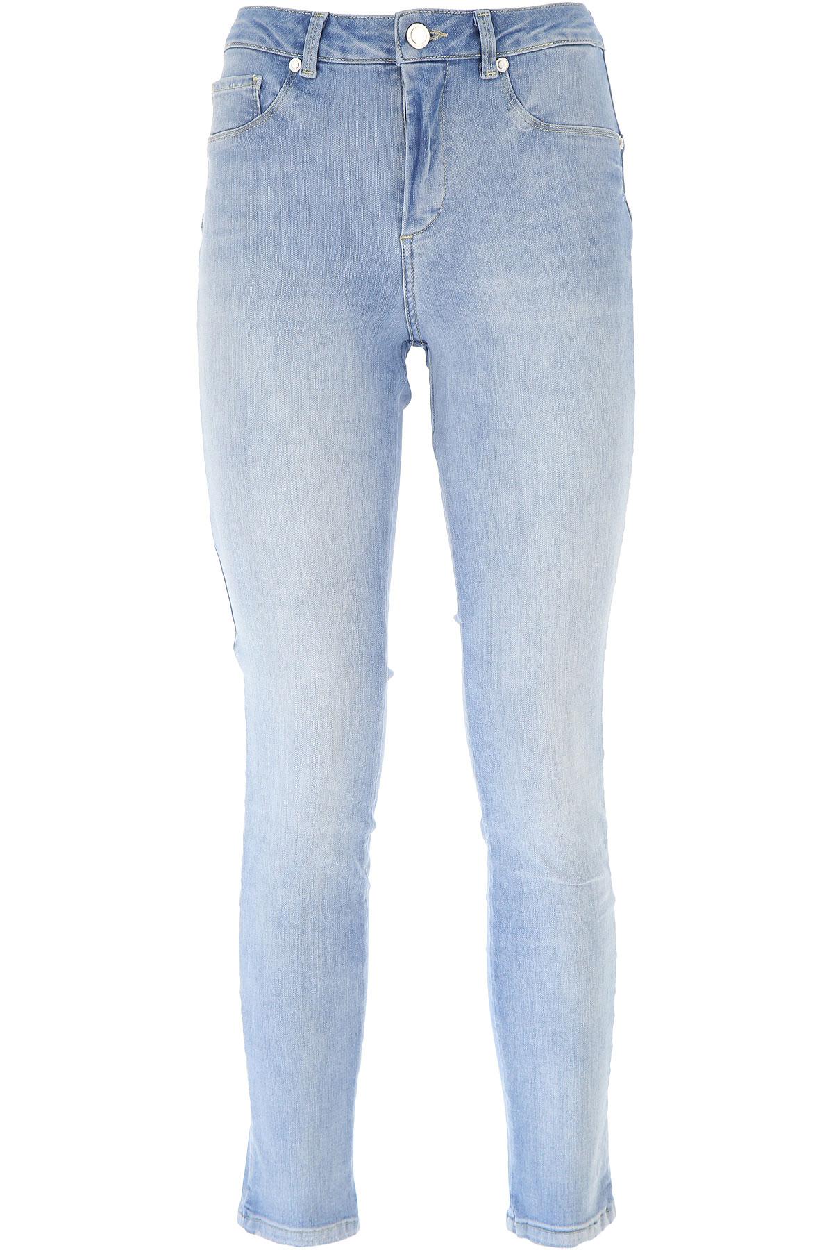 Silvian Heach Jeans On Sale, Denim Blue, Cotton, 2019, 25 27 28 30