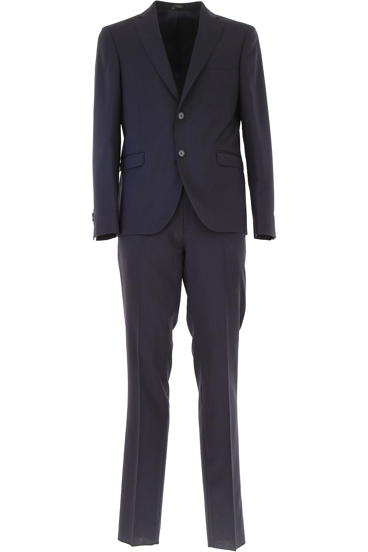 Simbols Men's Suit, Midnight Blue, Wool, 2019, L S XL XXL XXXL
