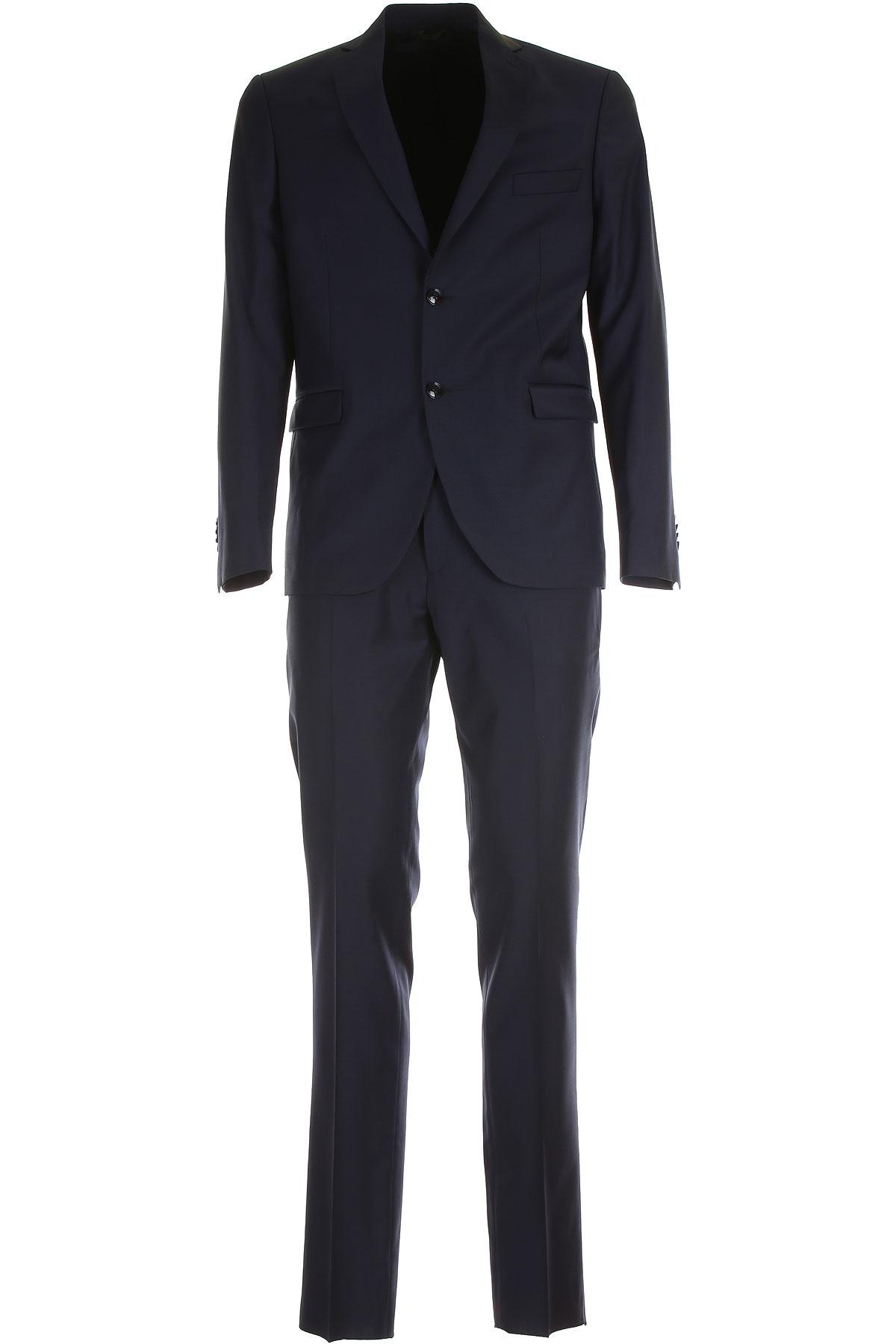 Simbols Men's Suit On Sale, Royal Blue, Pes, 2019, L M S XL XXL XXXL