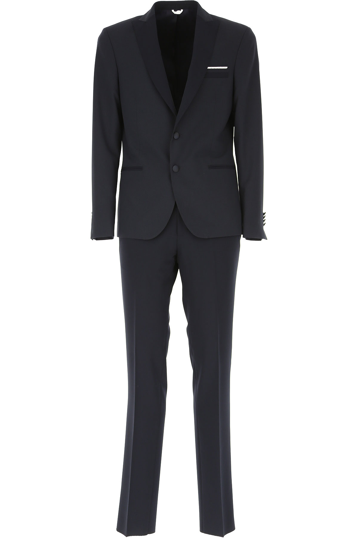 Simbols Men's Suit, Dark Blue, polyamide, 2019, L M XXL