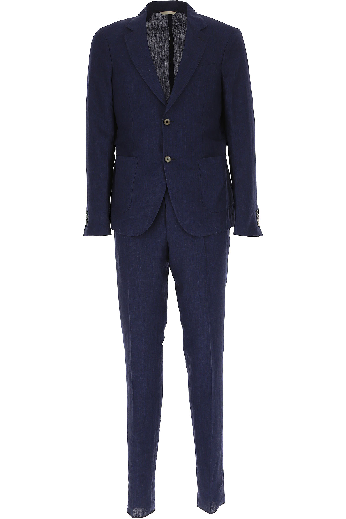 Simbols Men's Suit, Midnight, linen, 2019, XL XXL