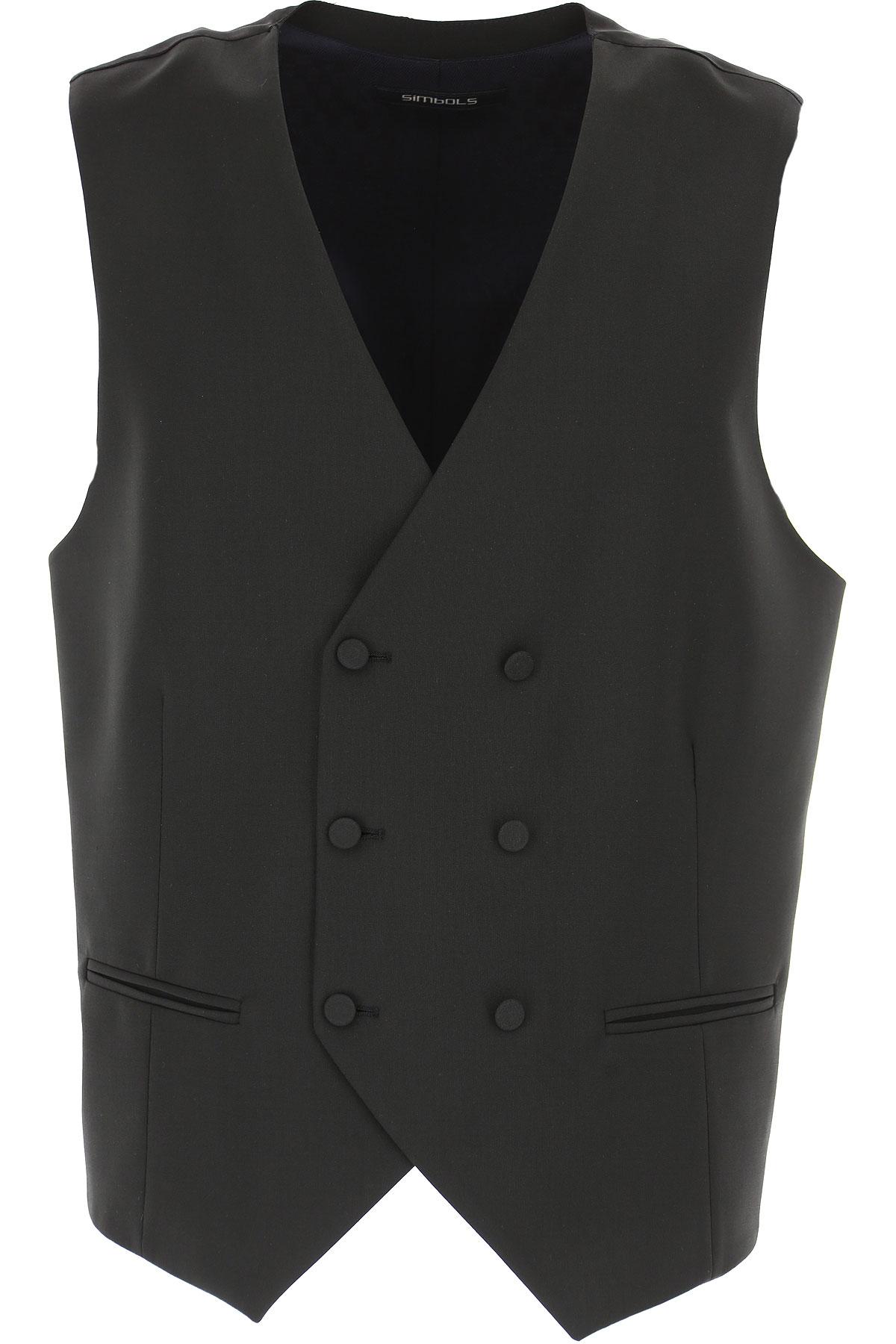 Simbols Mens Clothing, Black, polyester, 2019, L M S XL
