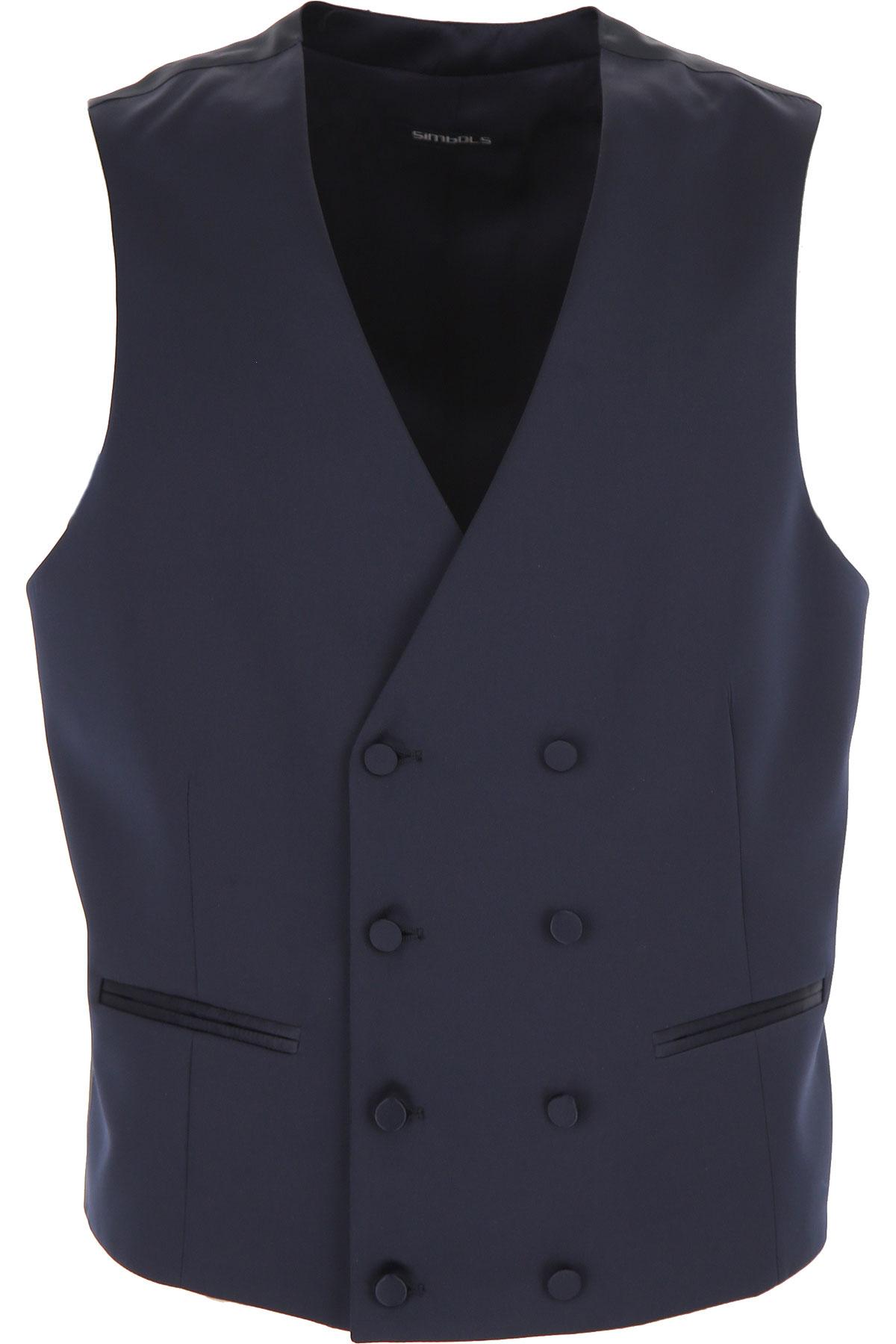 Simbols Mens Clothing, Dark Navy Blue, polyester, 2019, L M S XL