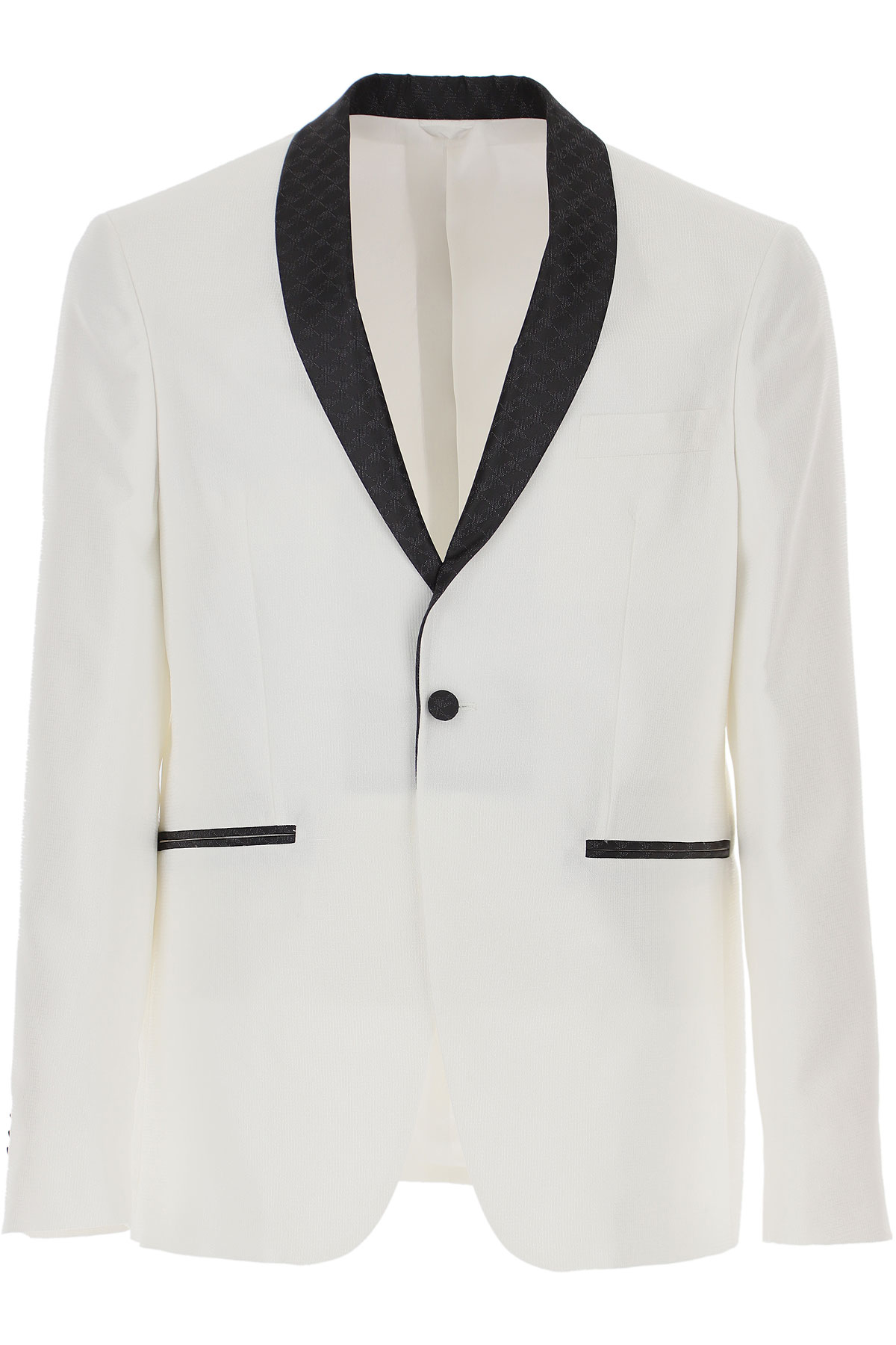 Simbols Blazer for Men, Sport Coat On Sale, White, polyester, 2019, L M S XL XXL