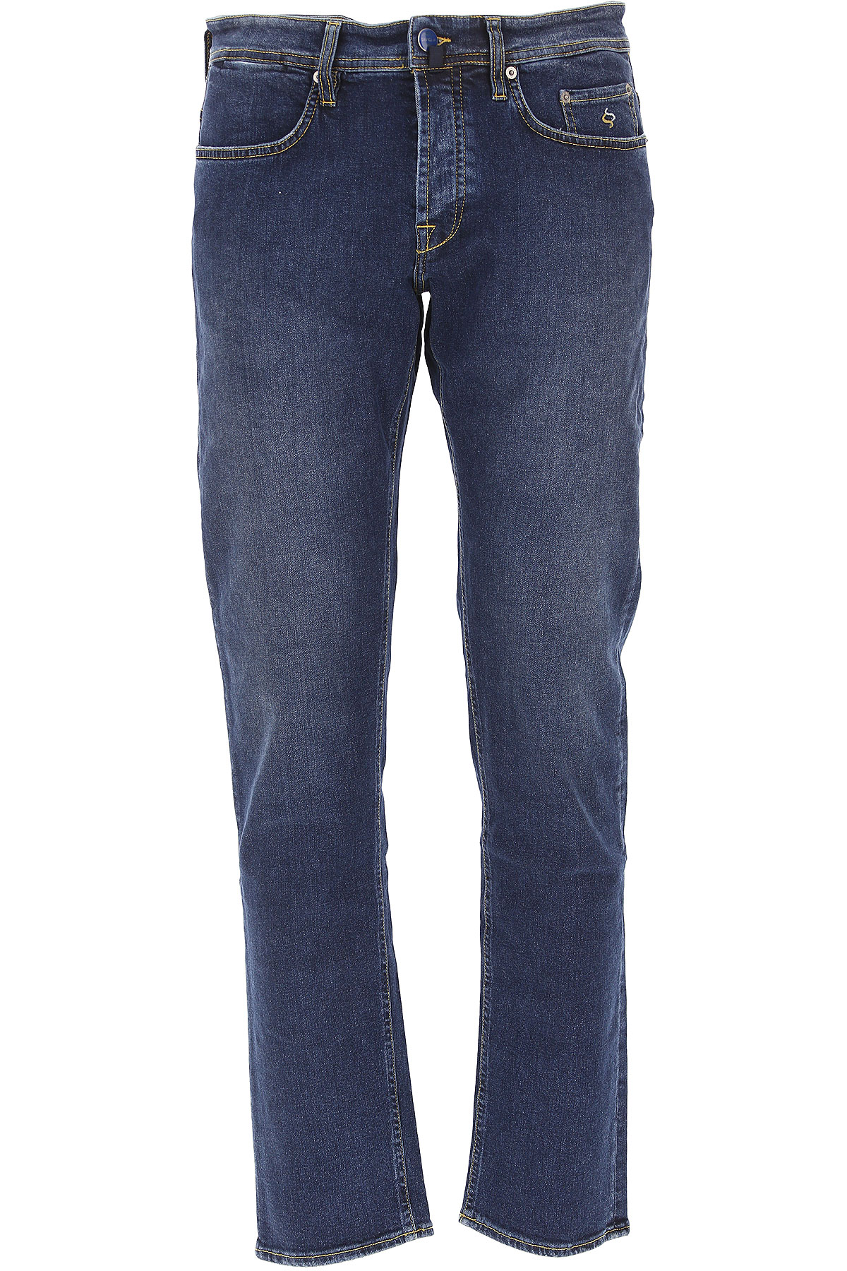 Image of Siviglia Jeans, Dark Denim Blue, Cotton, 2017, 34 40
