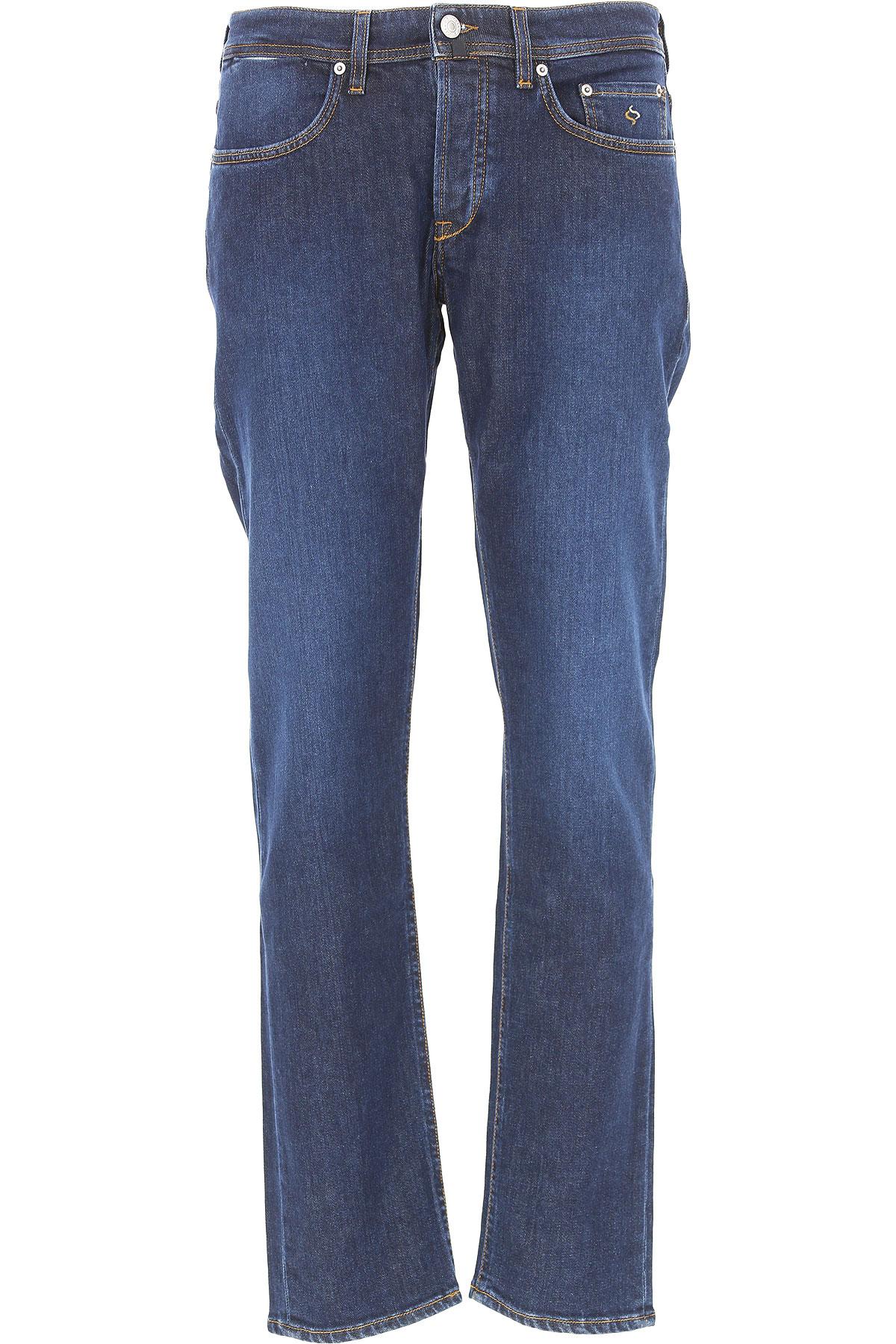 Image of Siviglia Jeans, Denim Core, Dark Blue, Cotton, 2017, 30 31 32 33 34 35 36 38