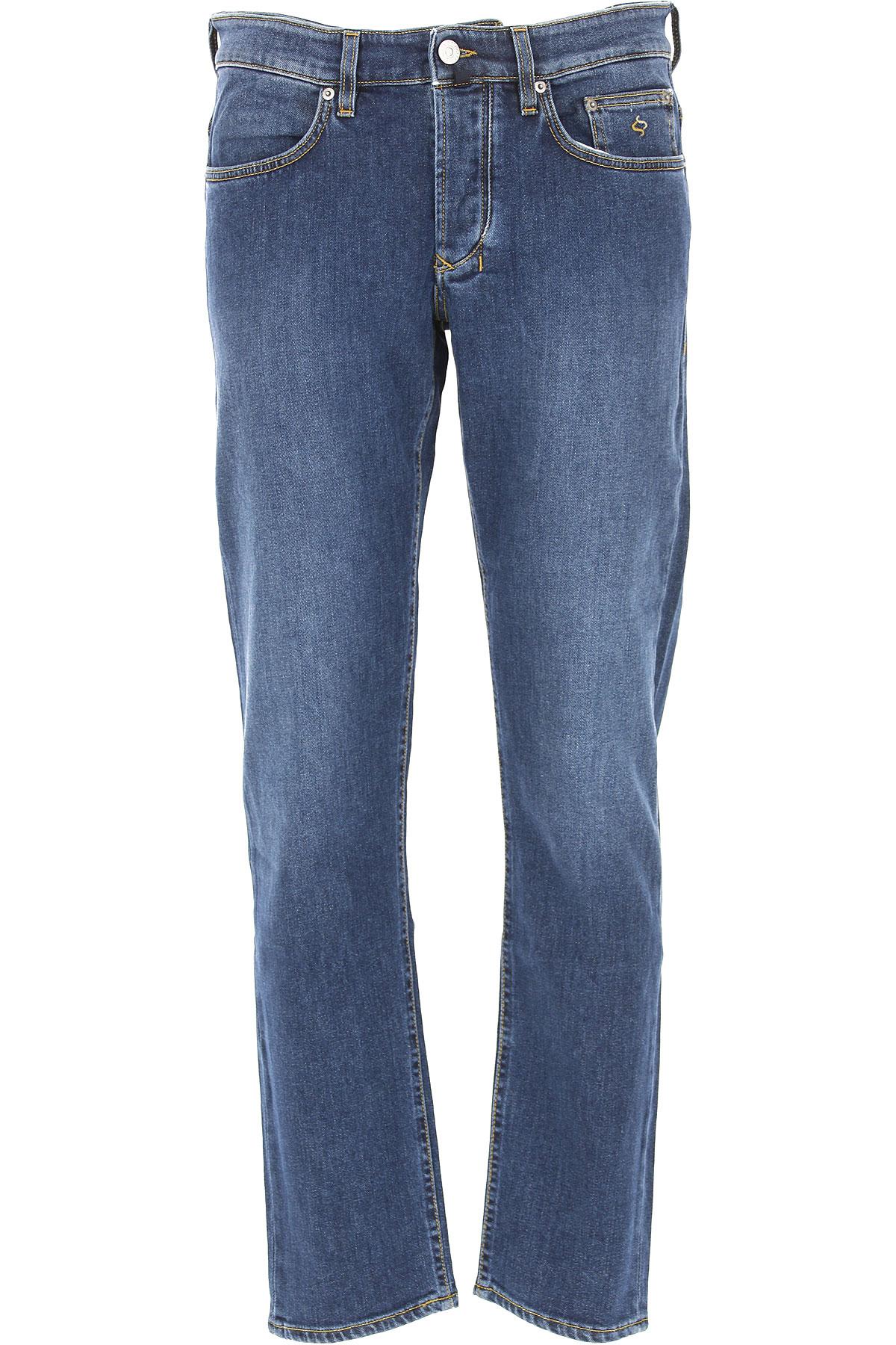 Image of Siviglia Jeans, Denim Blue, Cotton, 2017, 32 33 35 36 38